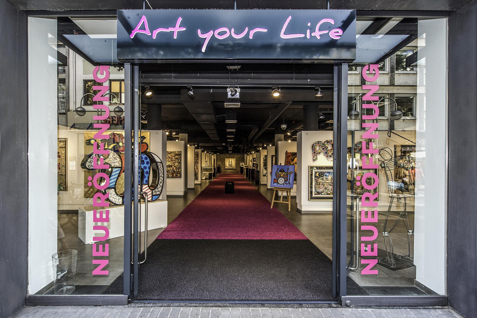 Unsere neue Galerie in Köln