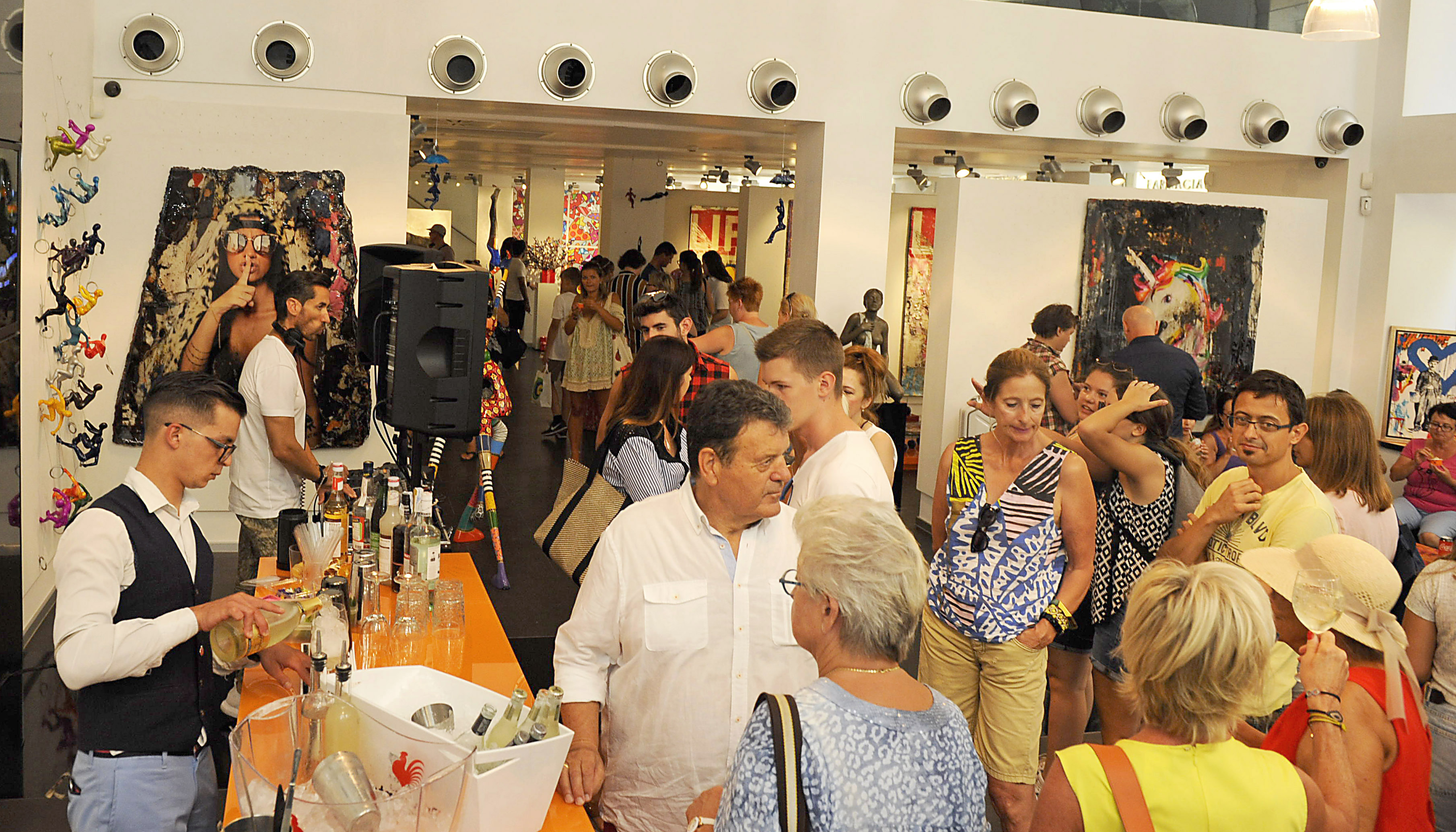 Bram Reijnders Ausstellung in Palma