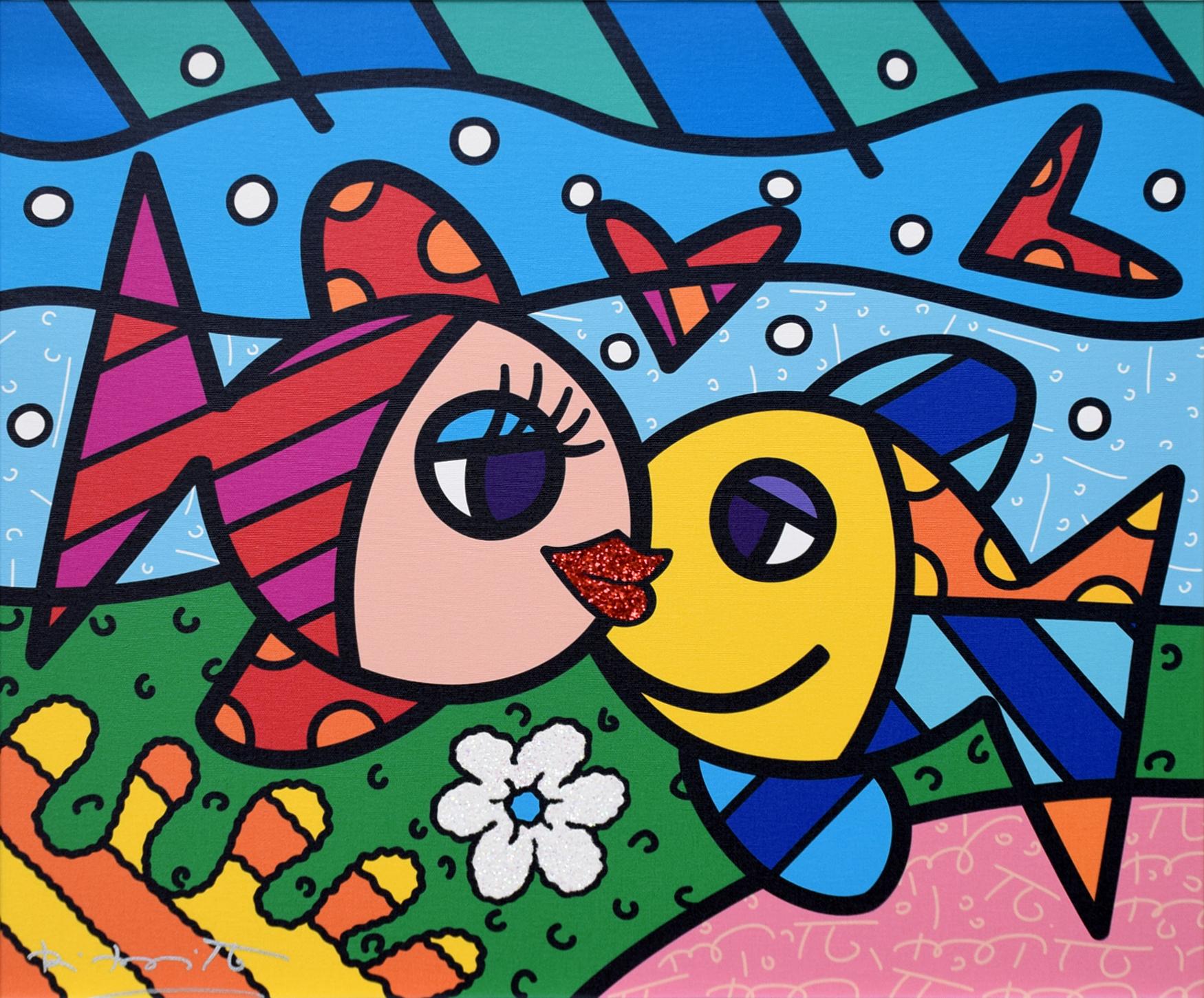 Romero Britto - Deep Paradise , 5603-004-598