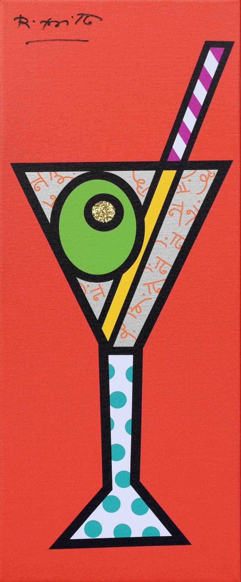 Romero Britto - Orange Martini , 5603-004-610