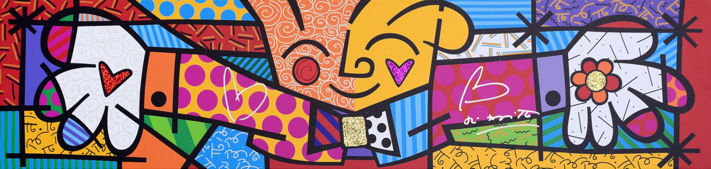 Romero Britto - The Hug , 5603-004-616