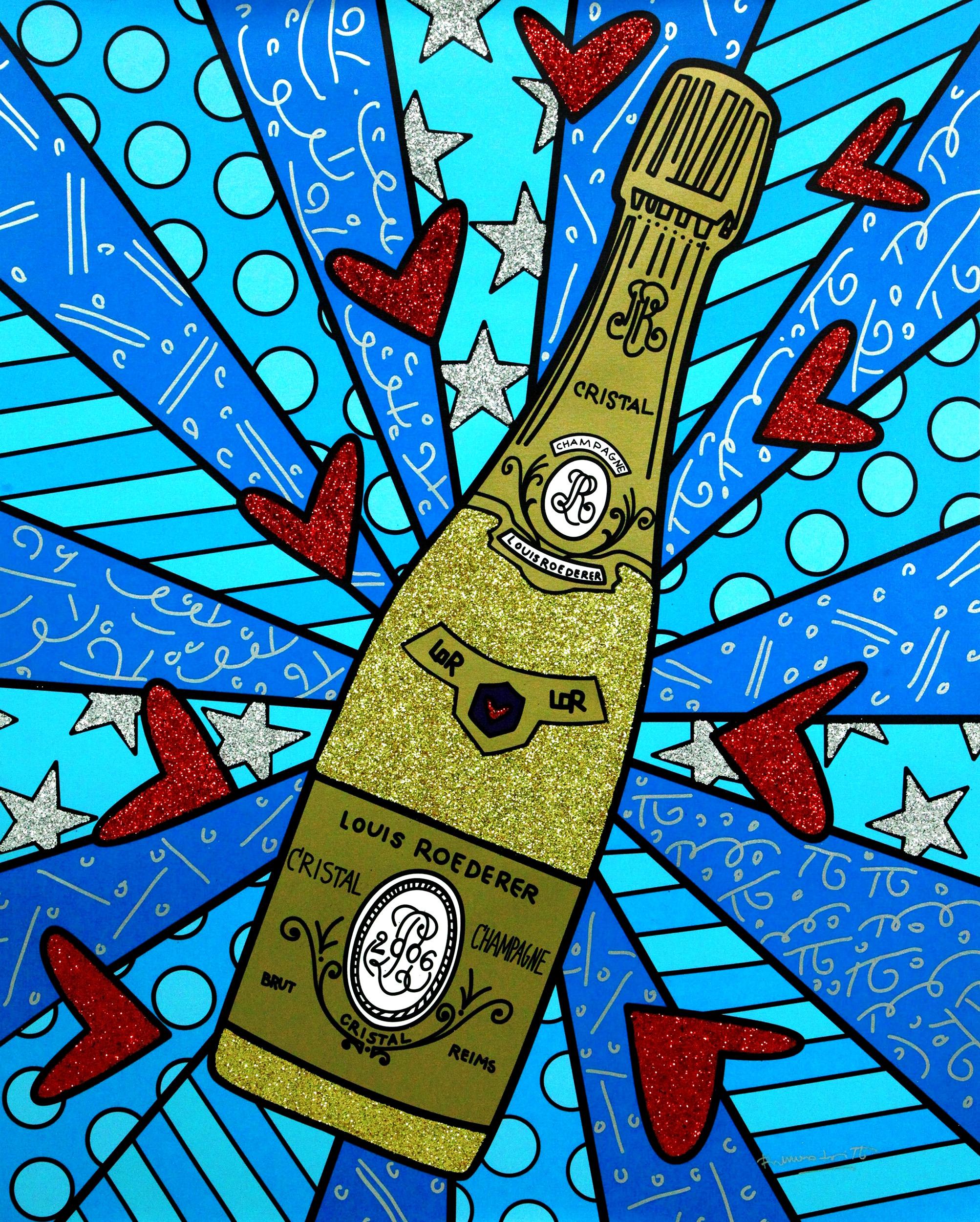 Romero Britto - Champagner Wishes & Caviar Dreams , 5603-004-618