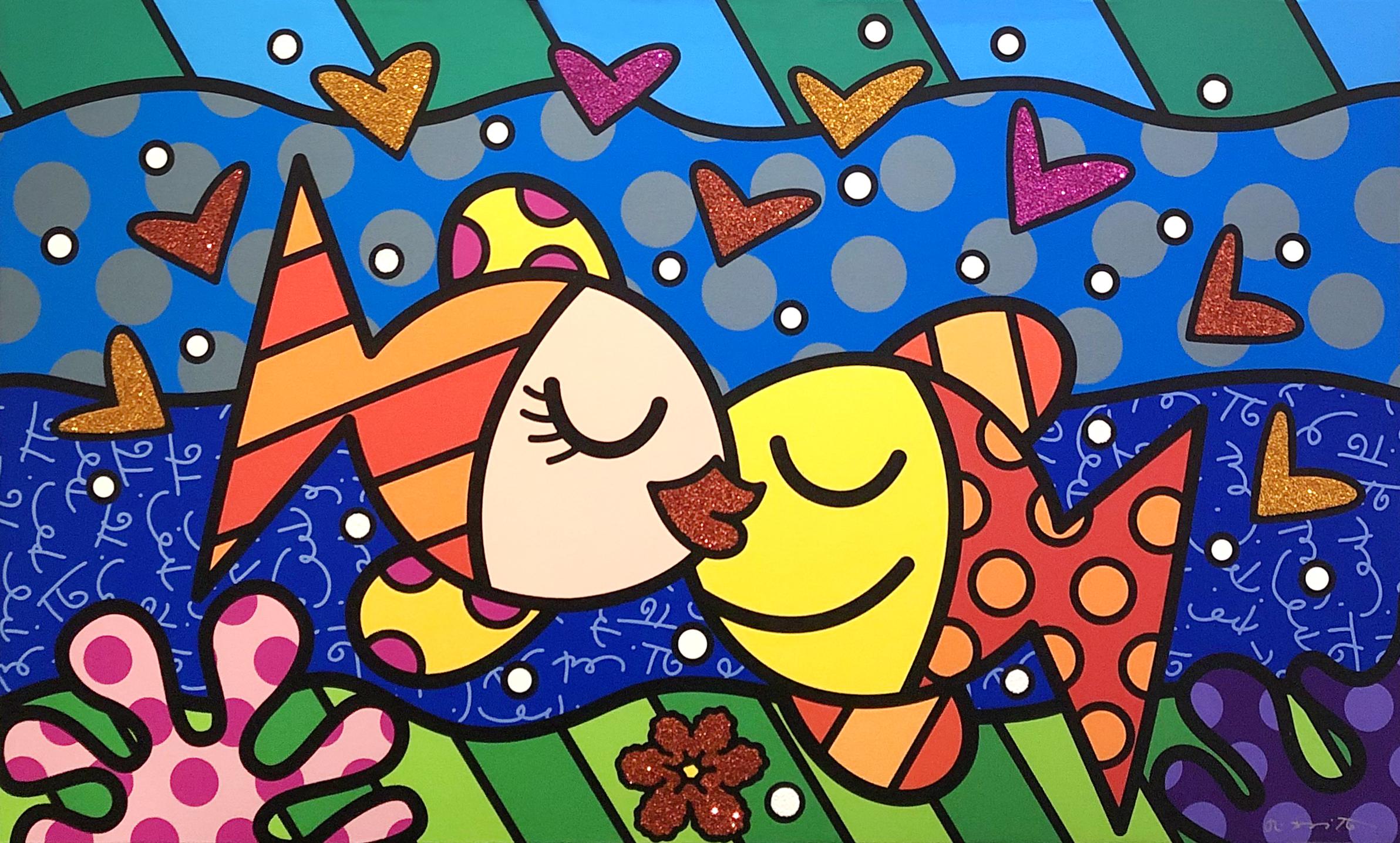 Romero Britto - Deep Love , 5603-004-619
