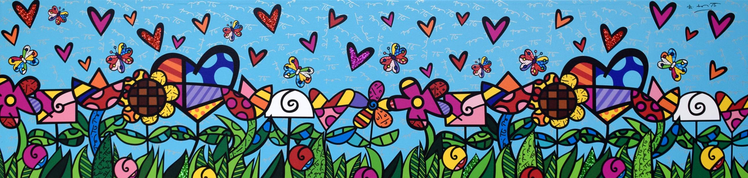 Romero Britto - Magic Garden , 5603-004-620
