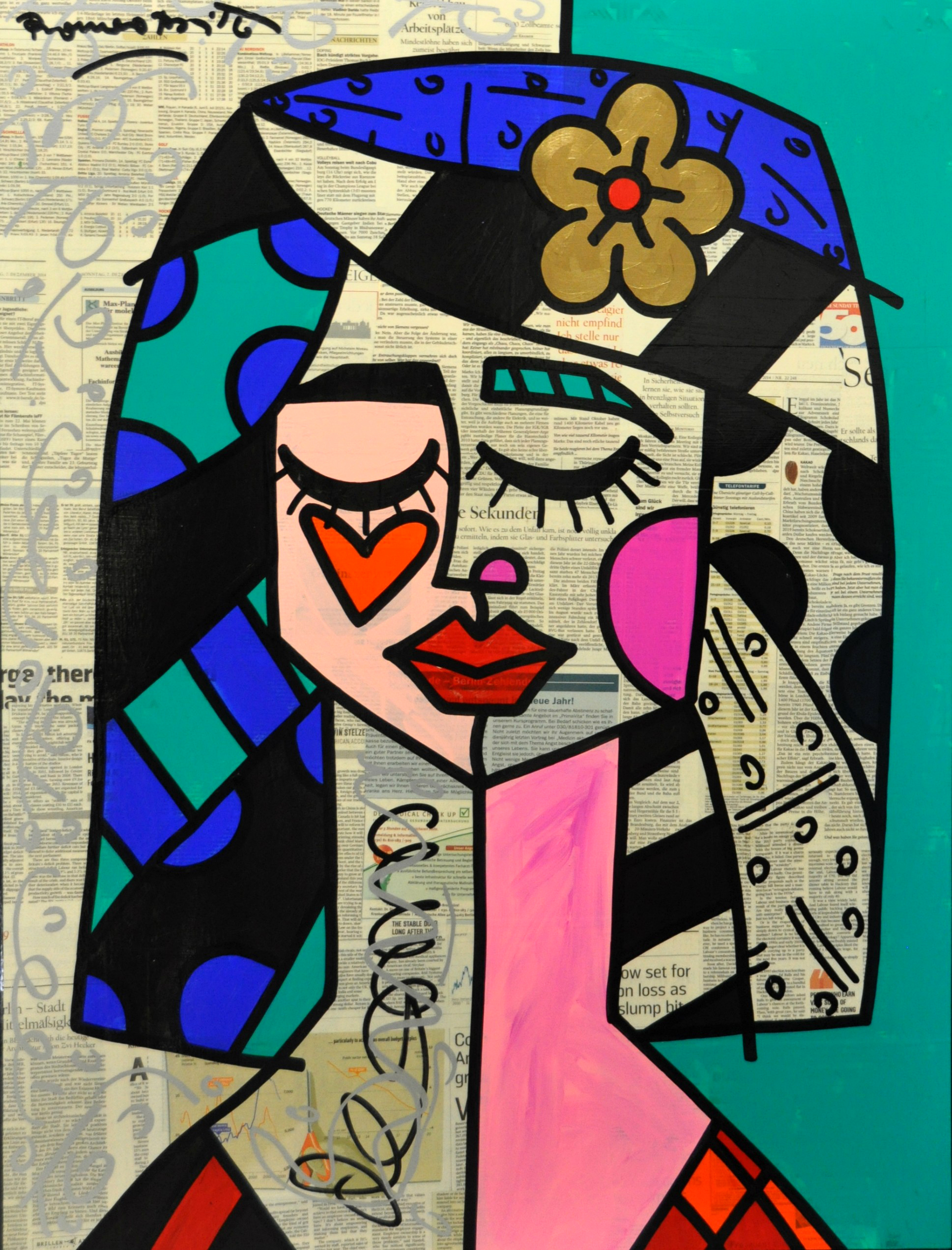 Romero Britto - Today News , 5603-012-414