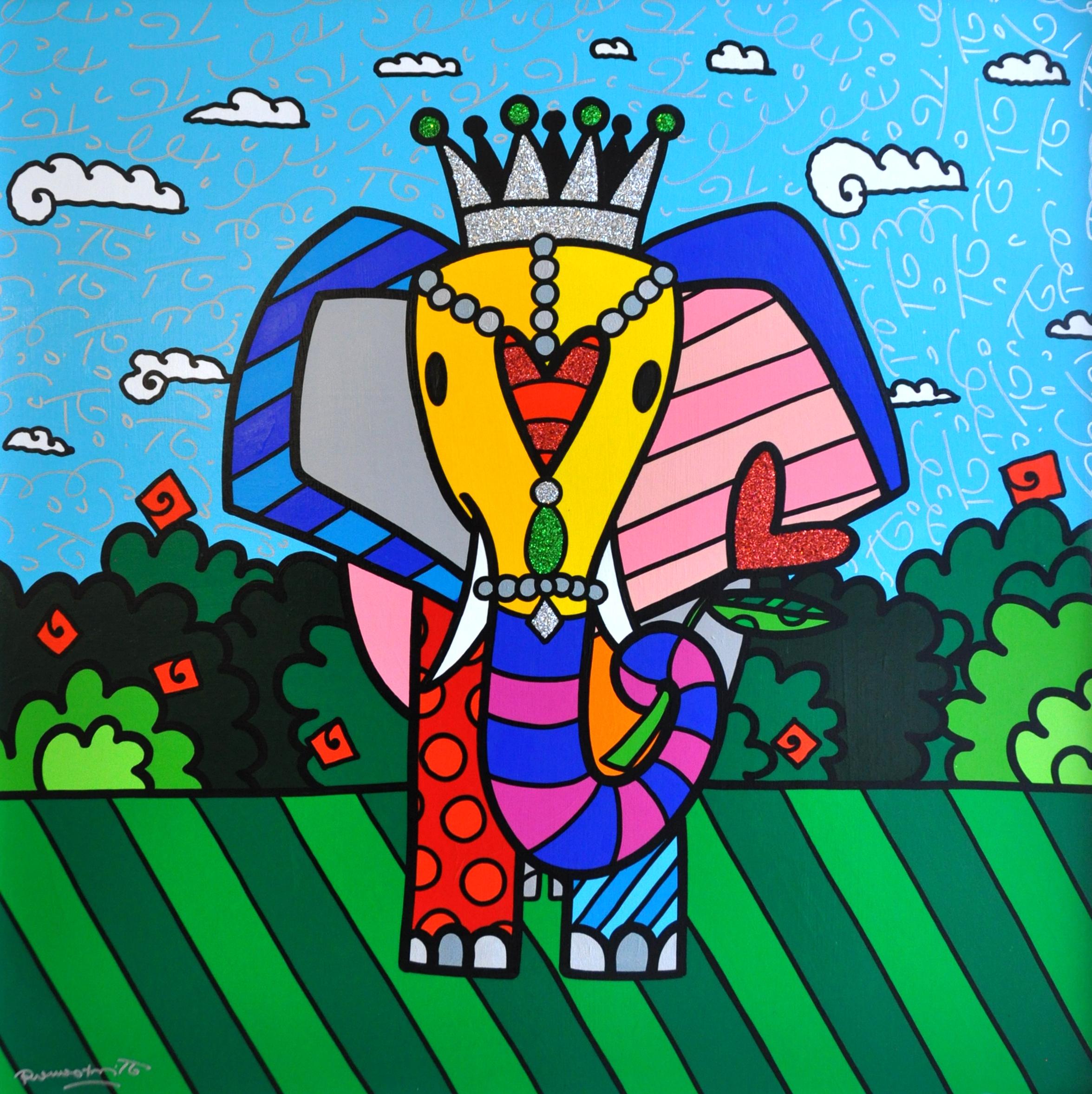 Romero Britto - India , 5603-012-497