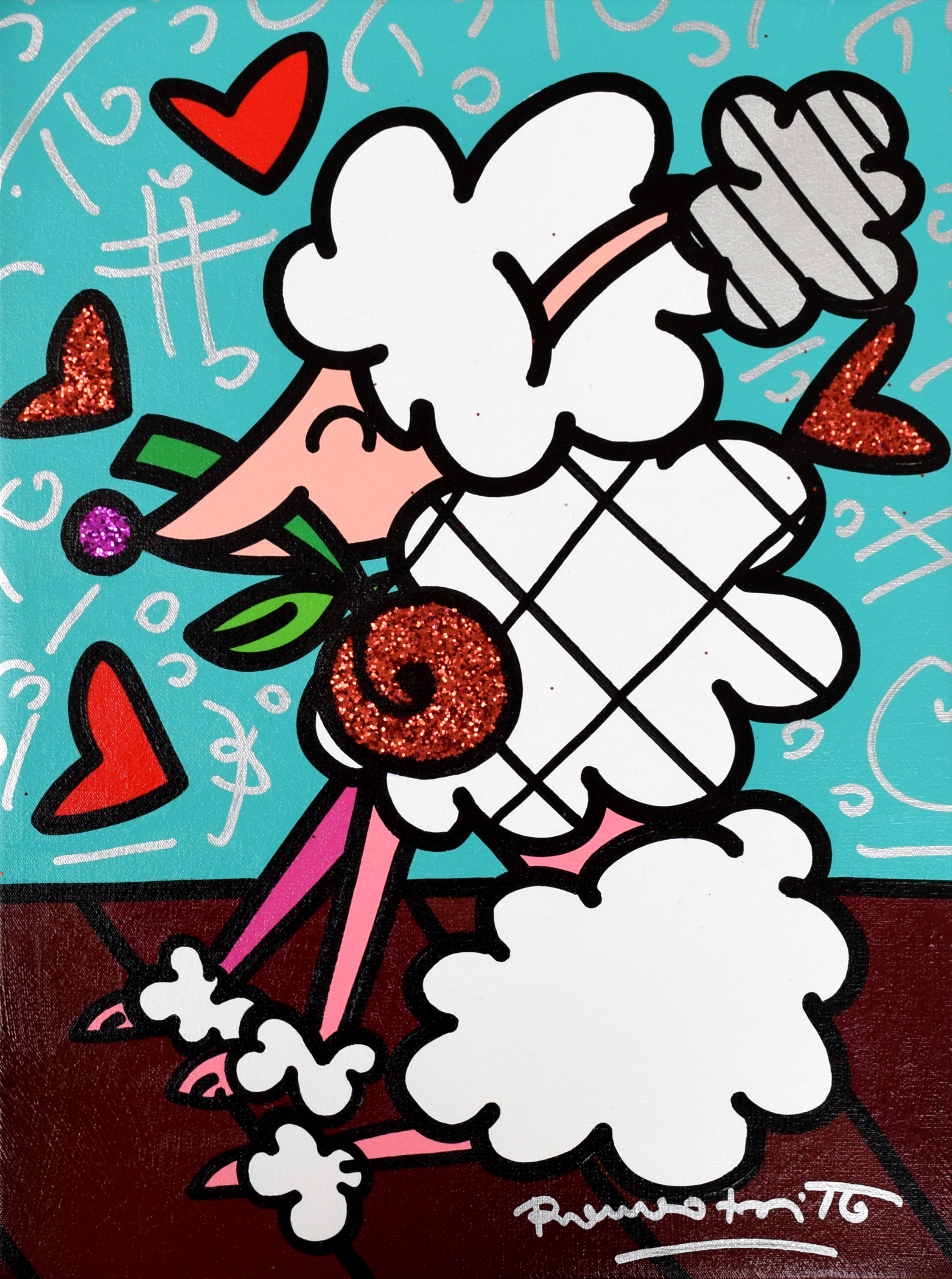 Romero Britto - Love my pet , 5603-012-556