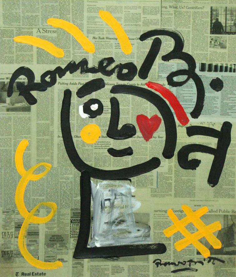 Romero Britto - Britto Hat , 5603-012-752