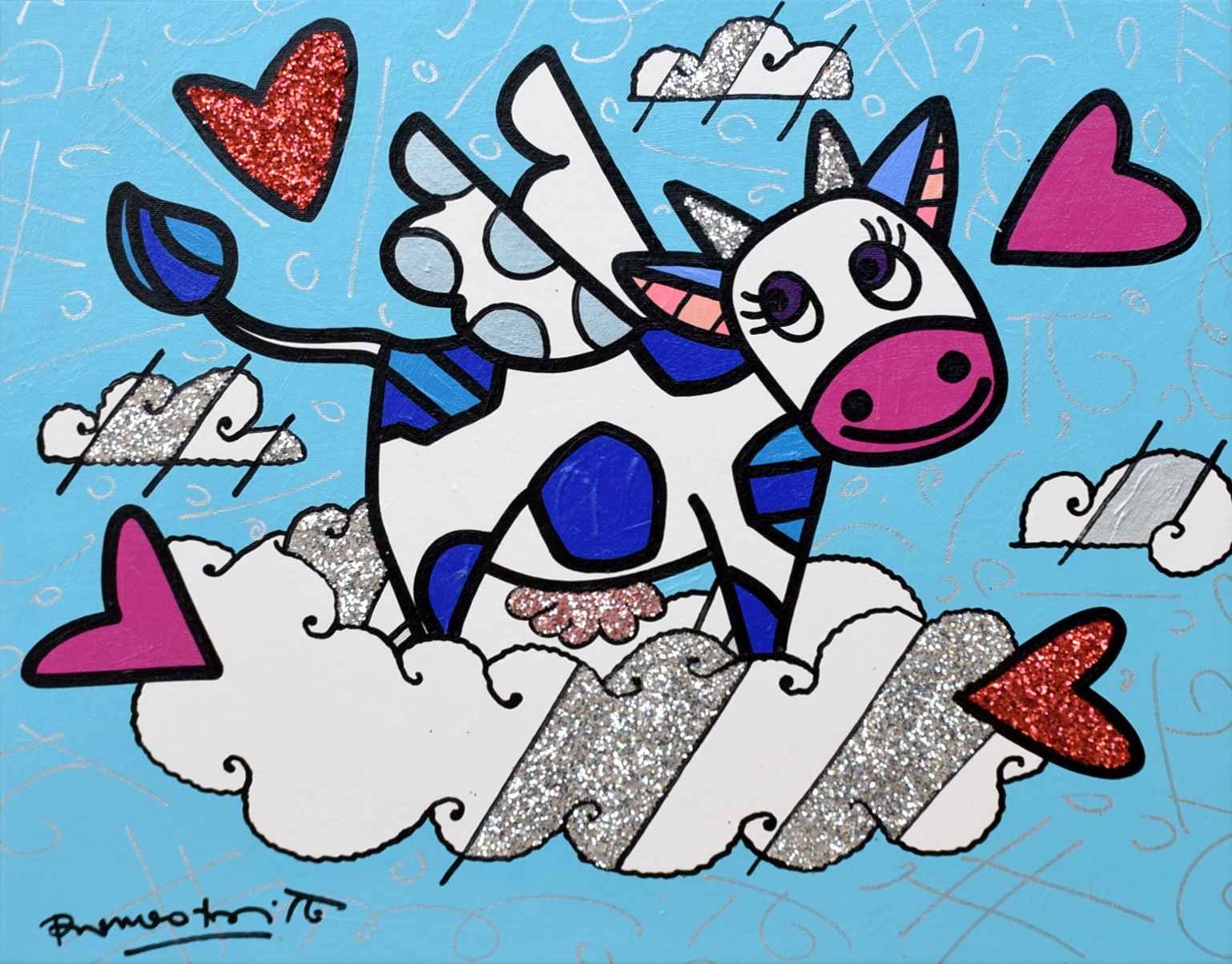 Romero Britto - Flying Cow , 5603-012-840