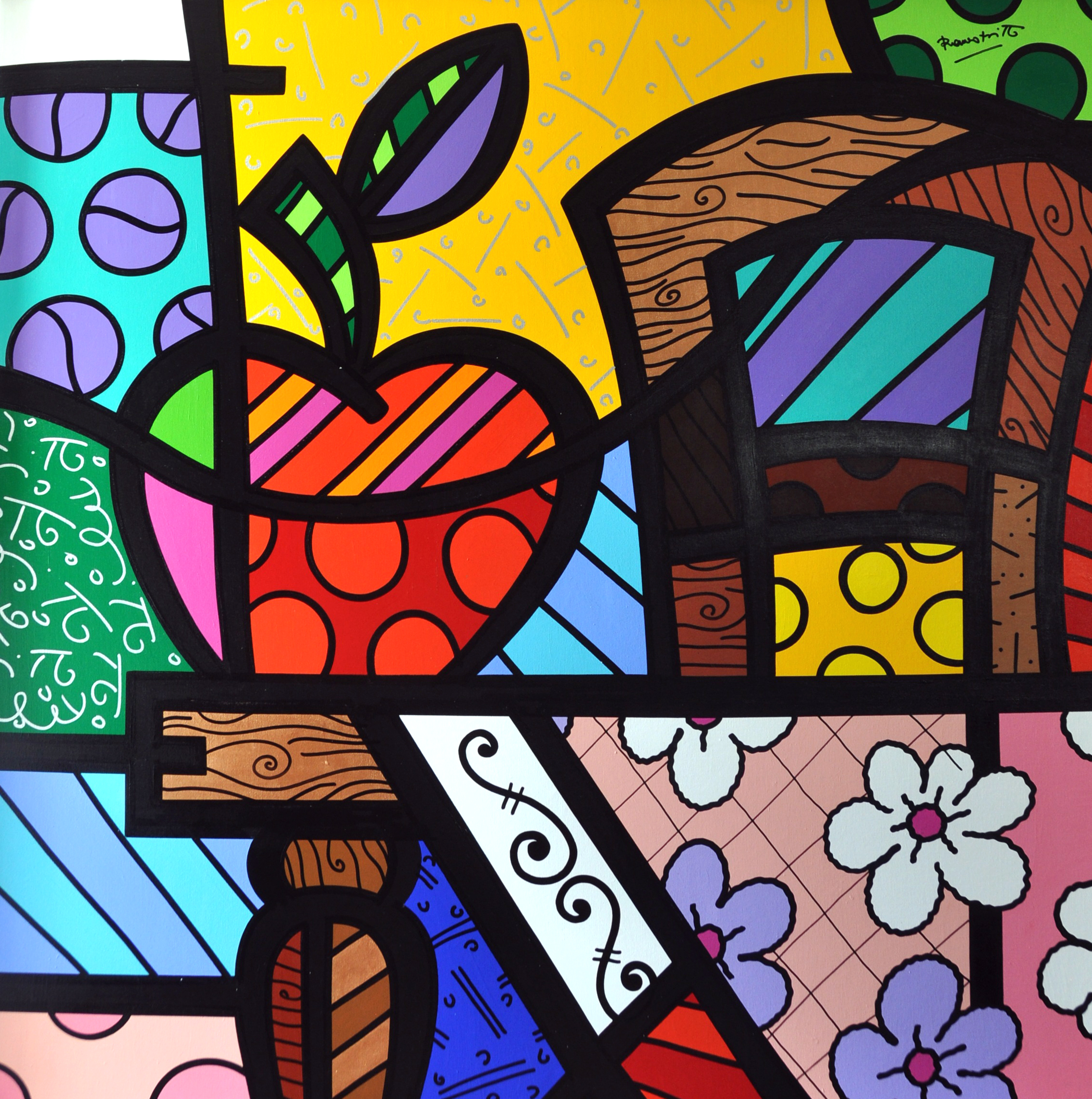 Romero Britto - Big Apple , 5603-012-177