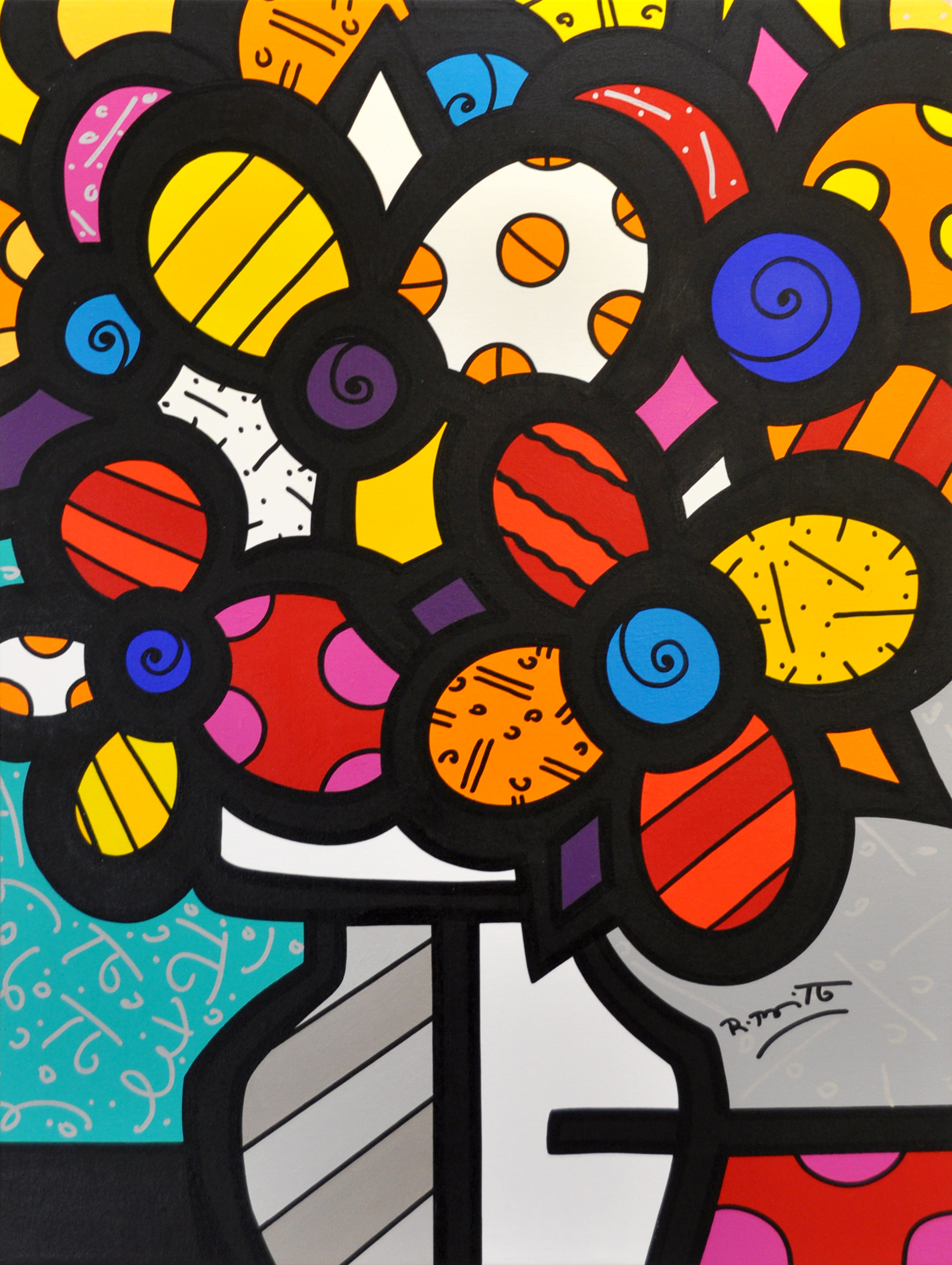 Romero Britto - Summer , 5603-012-144
