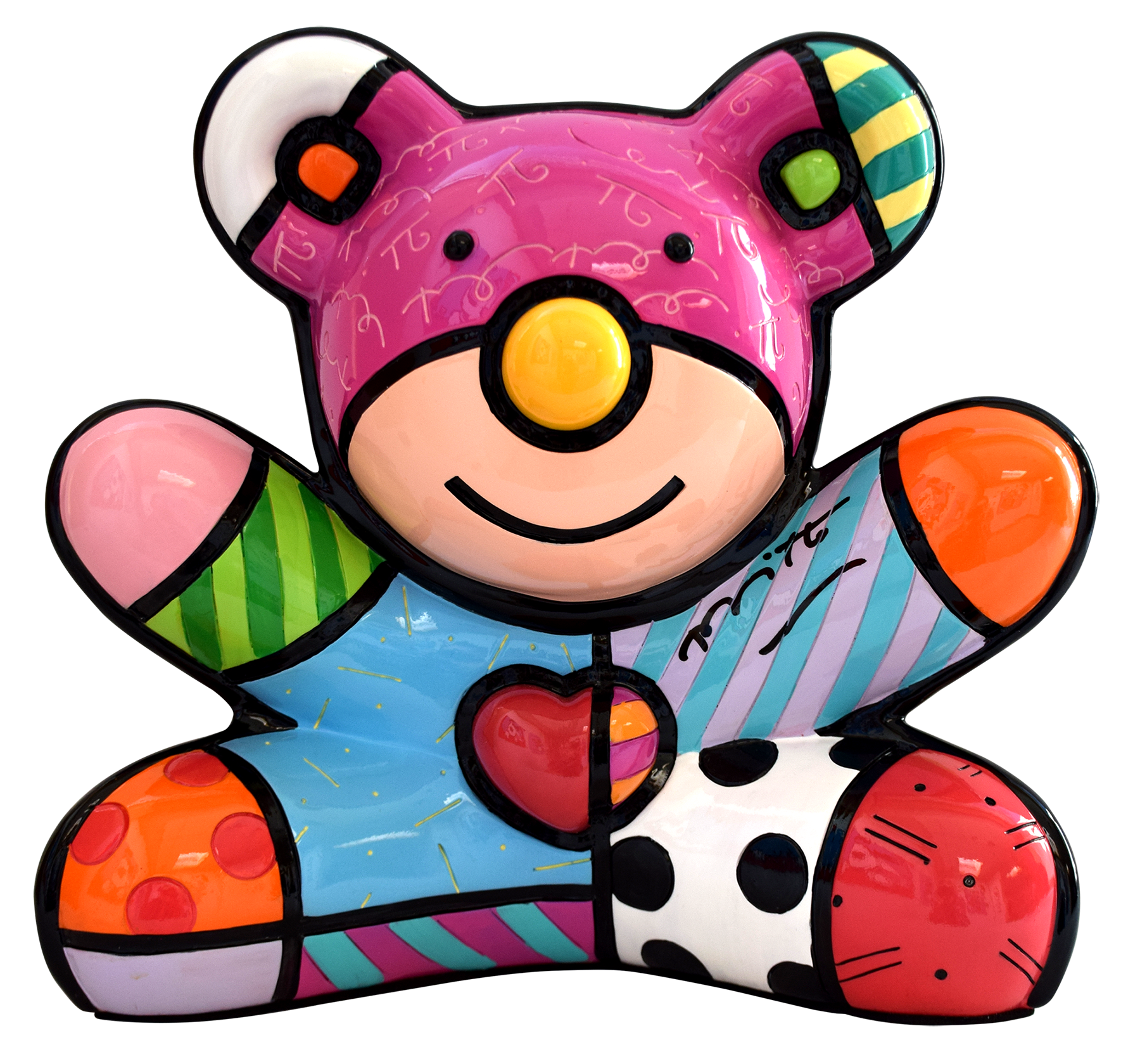 Romero Britto - Summer Bear , 5603-011-011