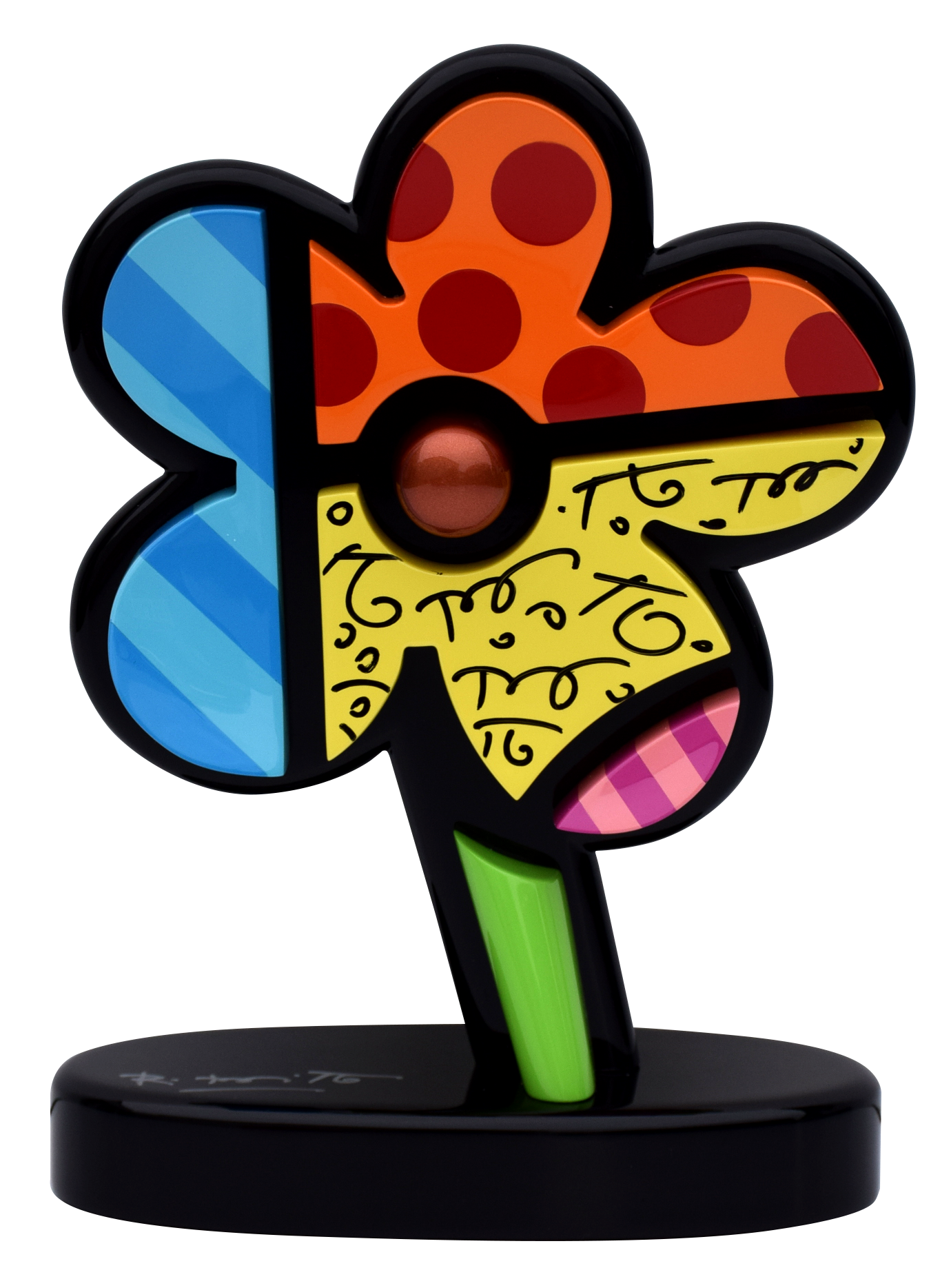 Romero Britto - Flower Color , 5603-011-017
