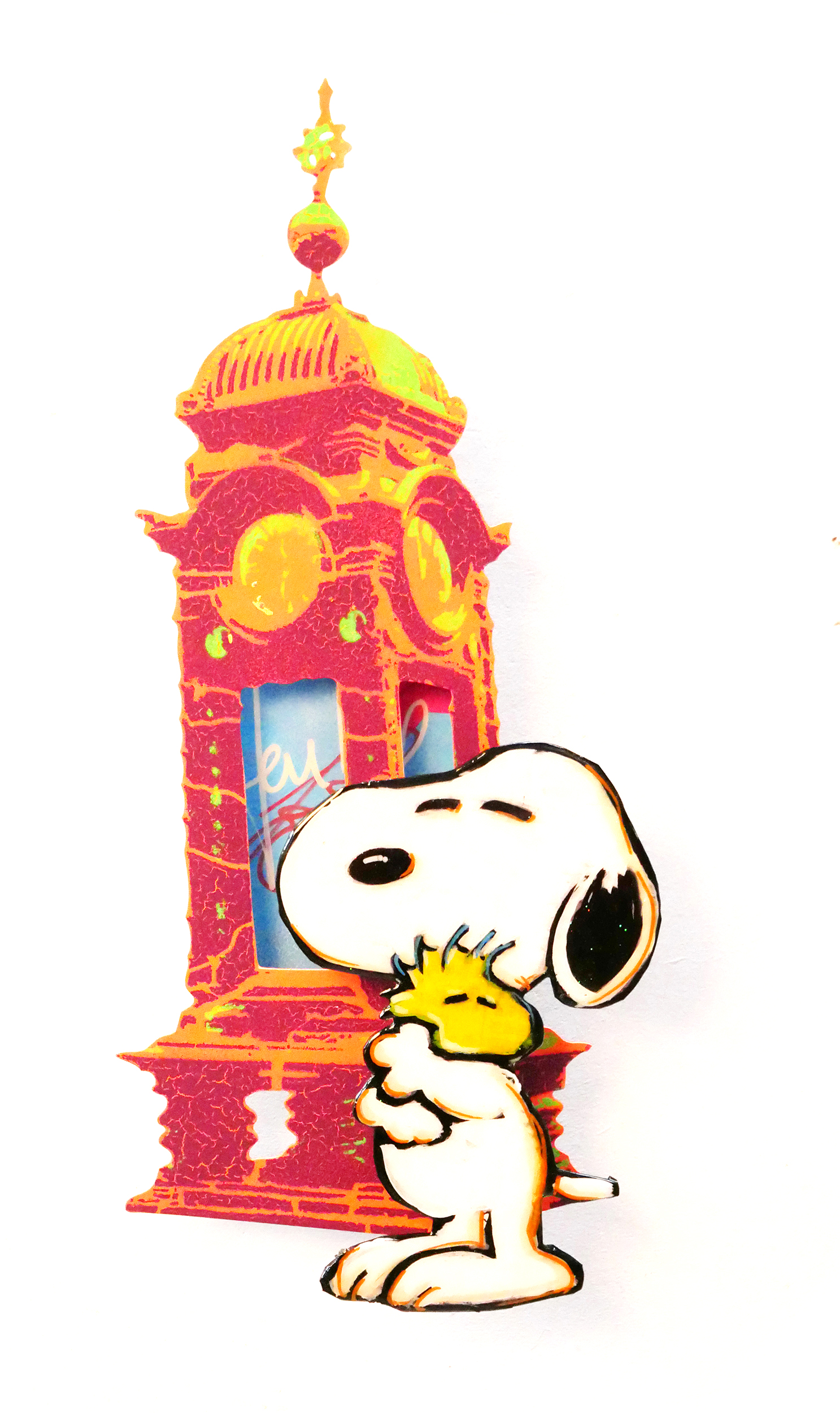 Tom Boston - An der Kröpcke Uhr (Snoopy) , 8017-006-944