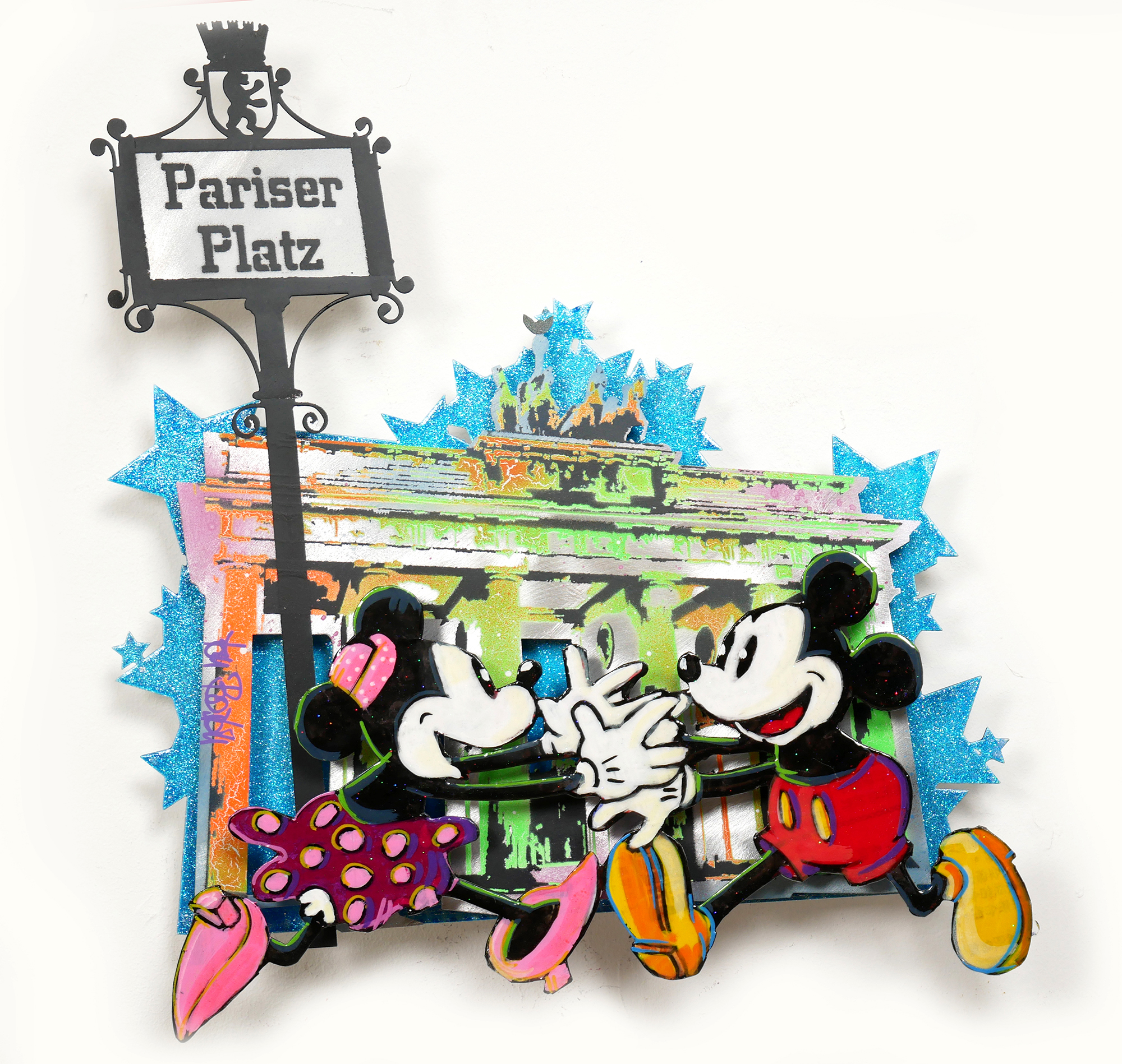 Tom Boston - Brandenburger Tor (Mickey & Minnie) , 8022-006-137