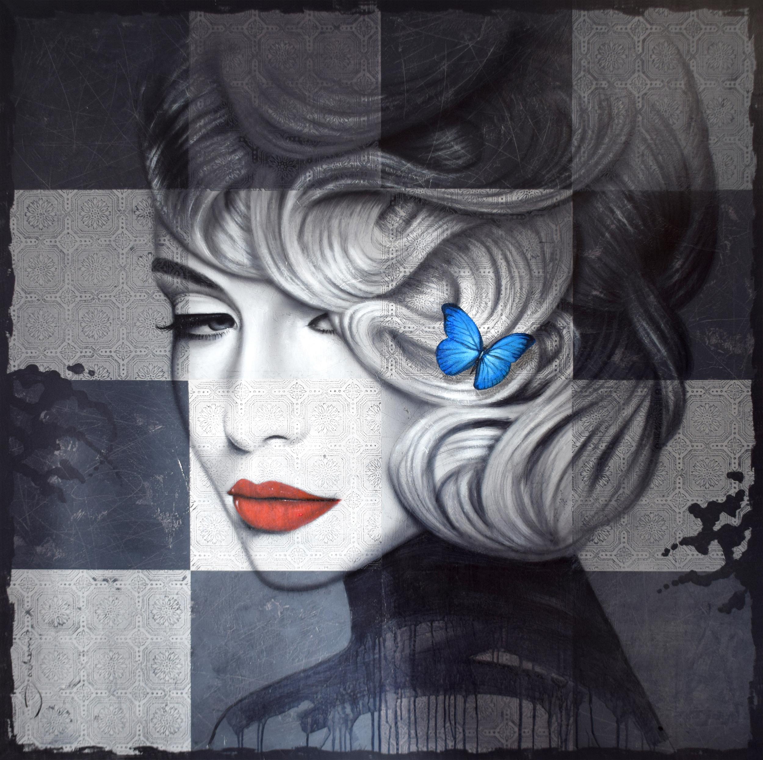 Hans Jochem Bakker - Blue Butterfly , 0657-012-005