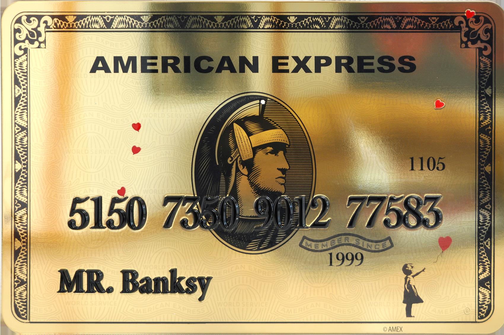 Diederik - AMEX (Mr. Banksy) , 4504-016-007