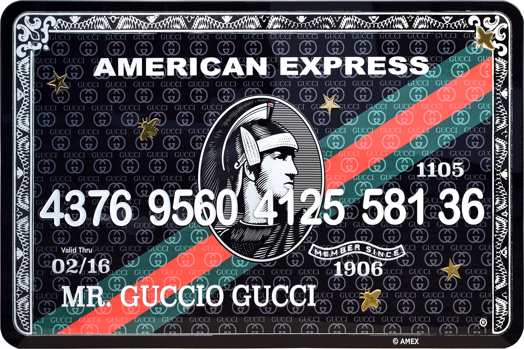 Diederik - AMEX (Mr. Guccio Gucci) , 4504-016-031