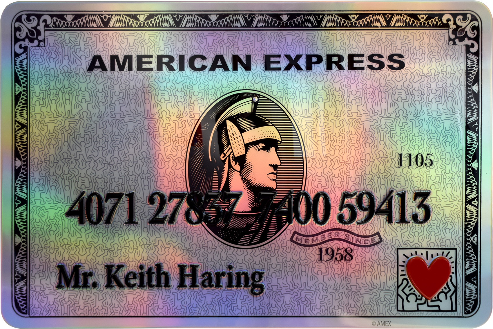 Diederik - AMEX (Mr. Keith Haring) , 4504-016-057