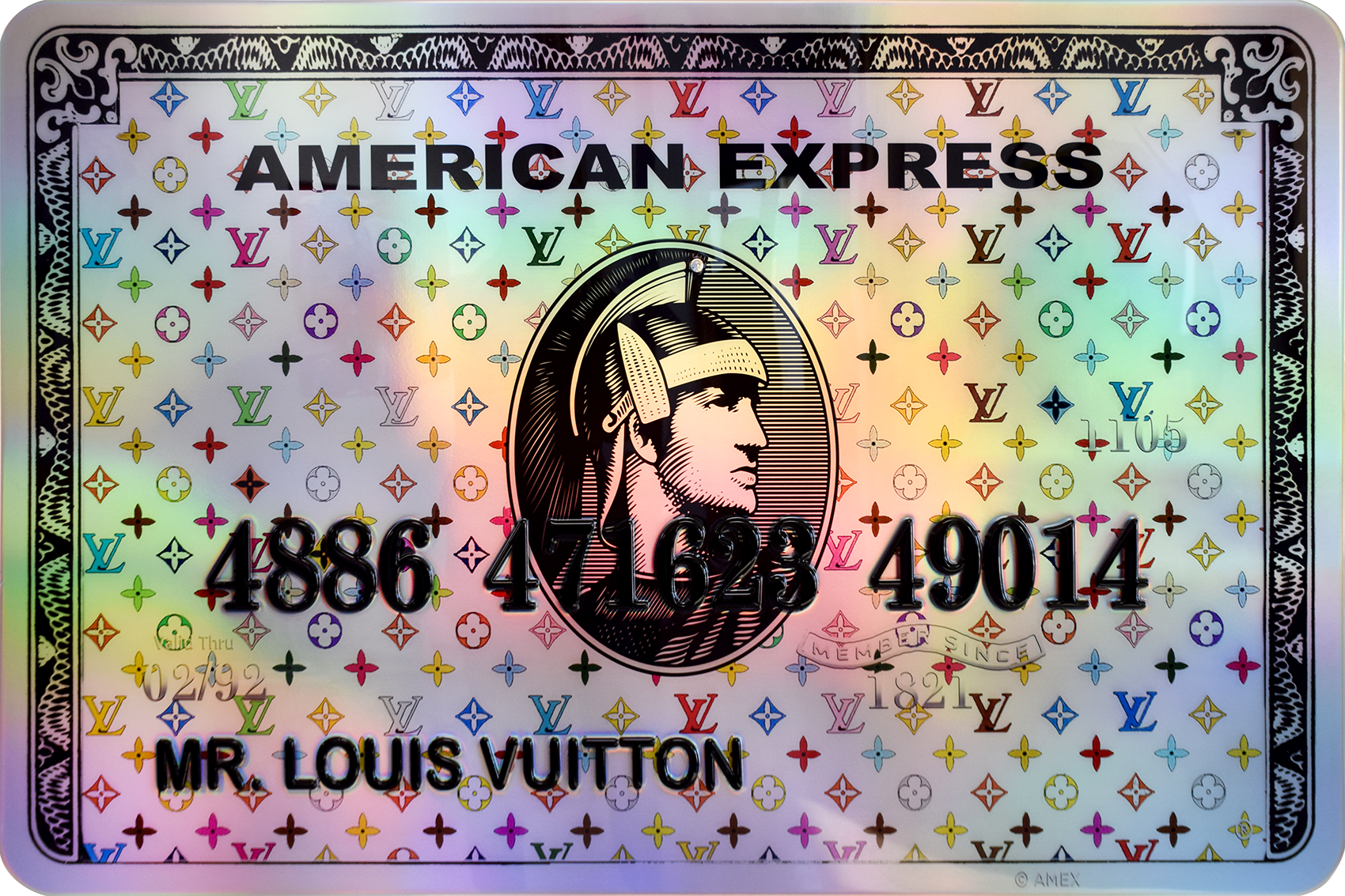 Diederik - AMEX (Mr. Louis Vuitton) , 4504-016-059