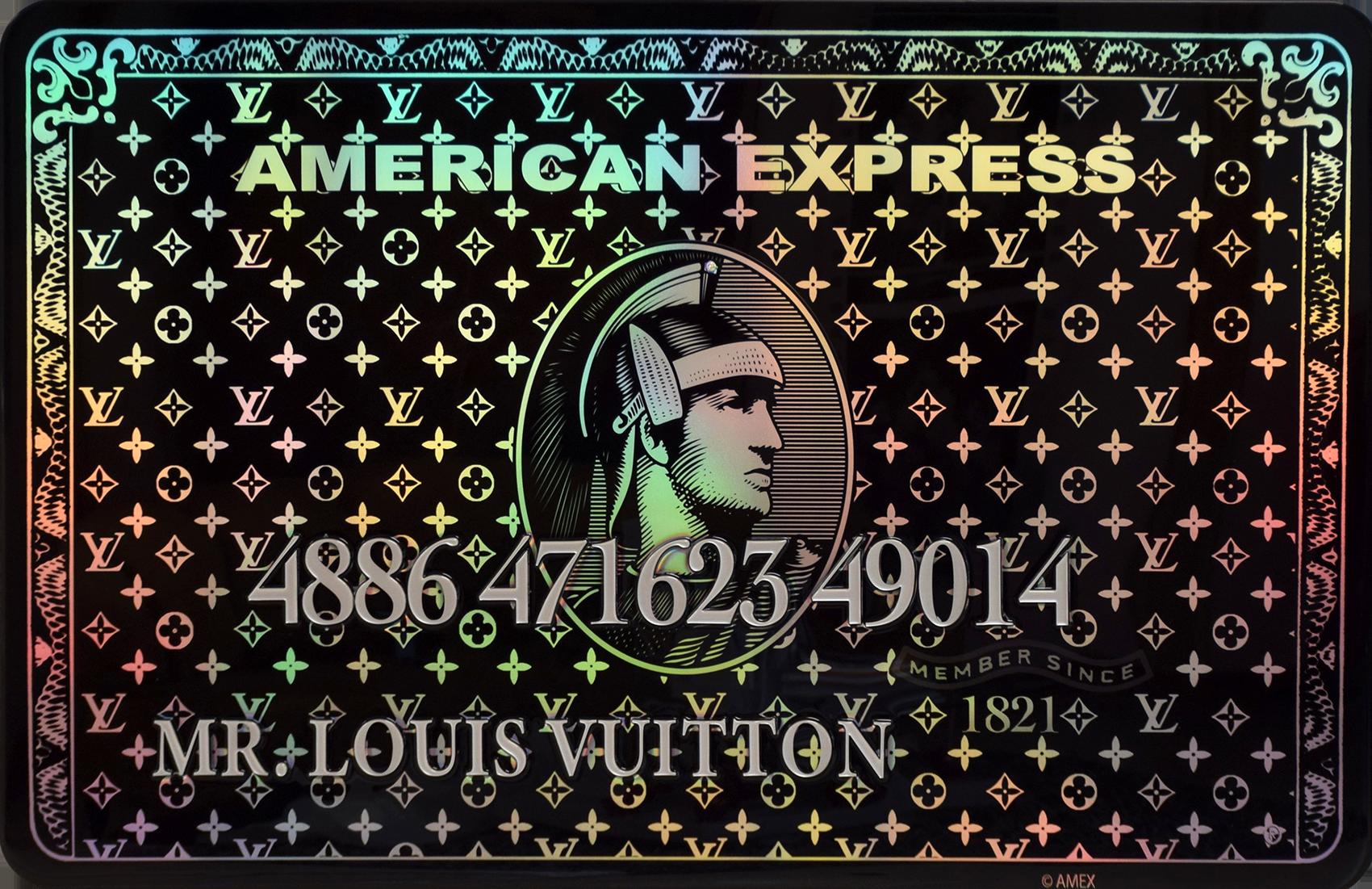 Diederik - AMEX (Mr. Louis Vuitton, Black) , 4504-016-261