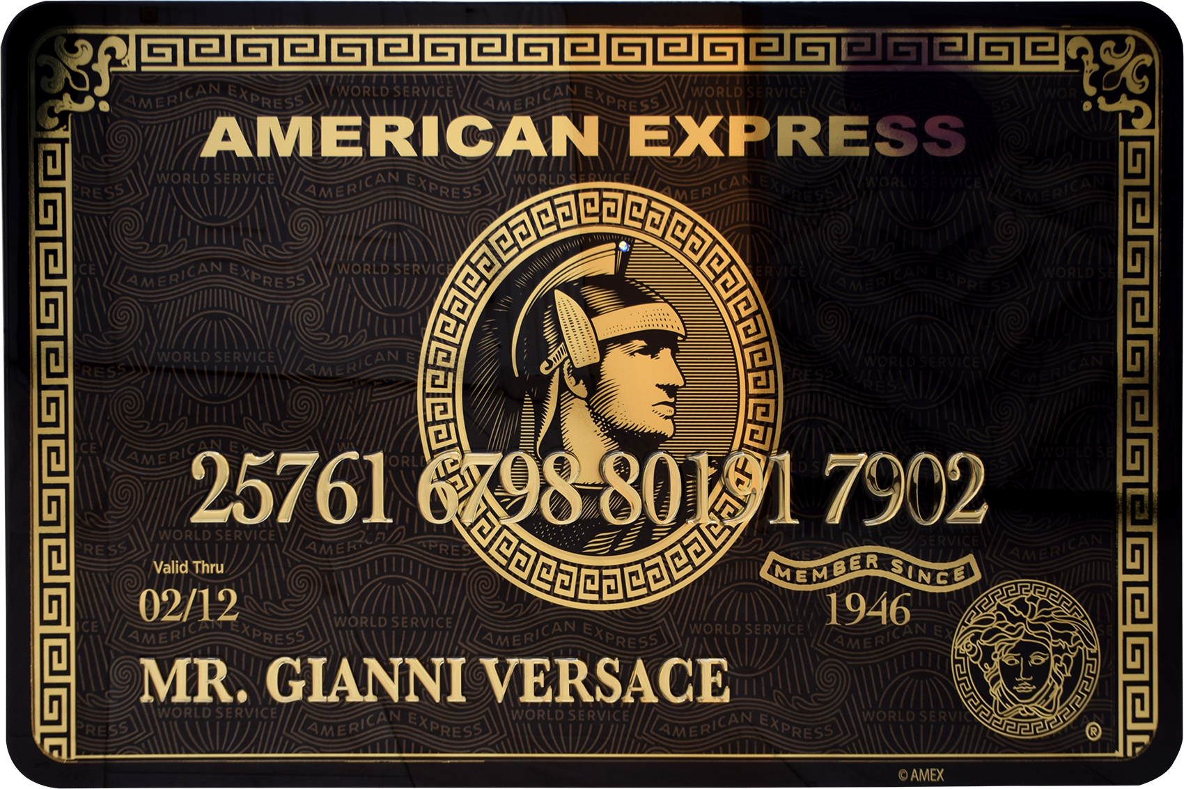 Diederik - AMEX (Mr. Gianni Versace) , 4504-016-269