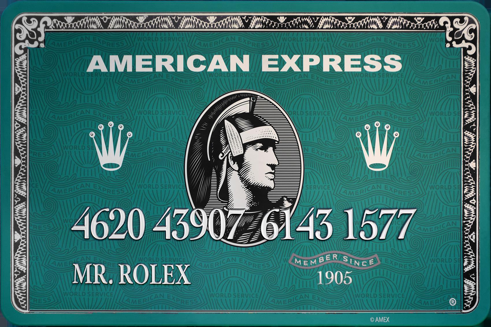 Diederik - AMEX (Mr. Rolex) , 4504-016-279