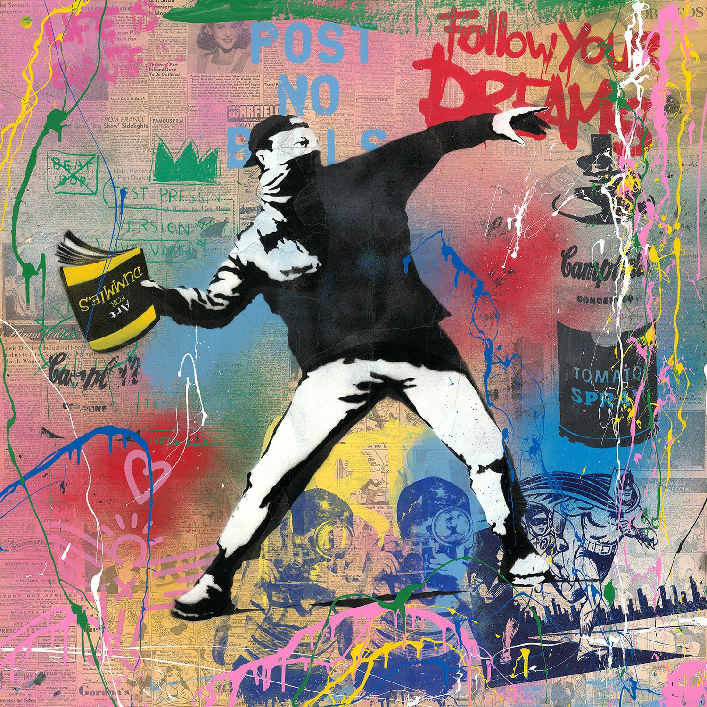 Mr. Brainwash - Banksy Thrower , 9003-012-100