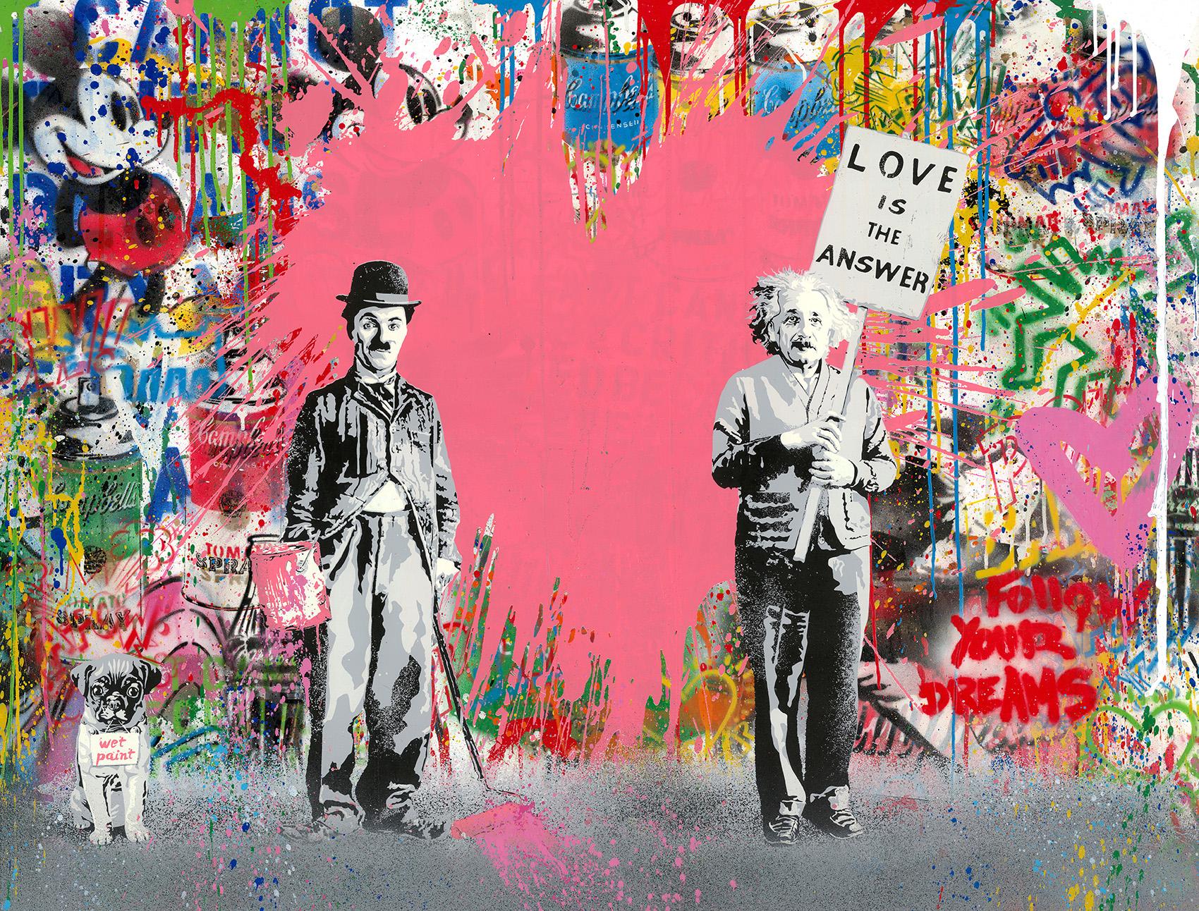 Mr. Brainwash - Juxtapose , 9003-012-103