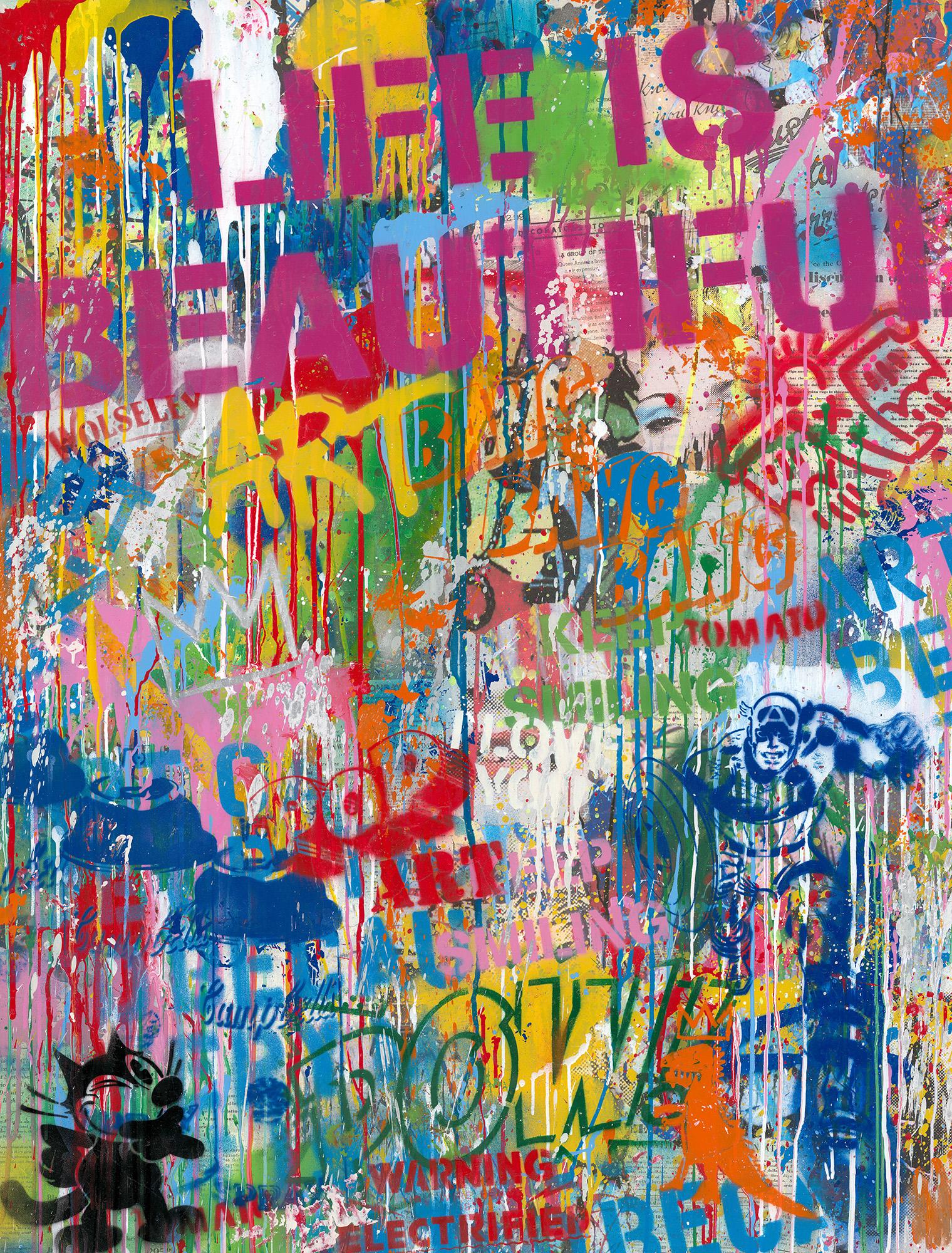 Mr. Brainwash - Street Wall , 9003-012-105