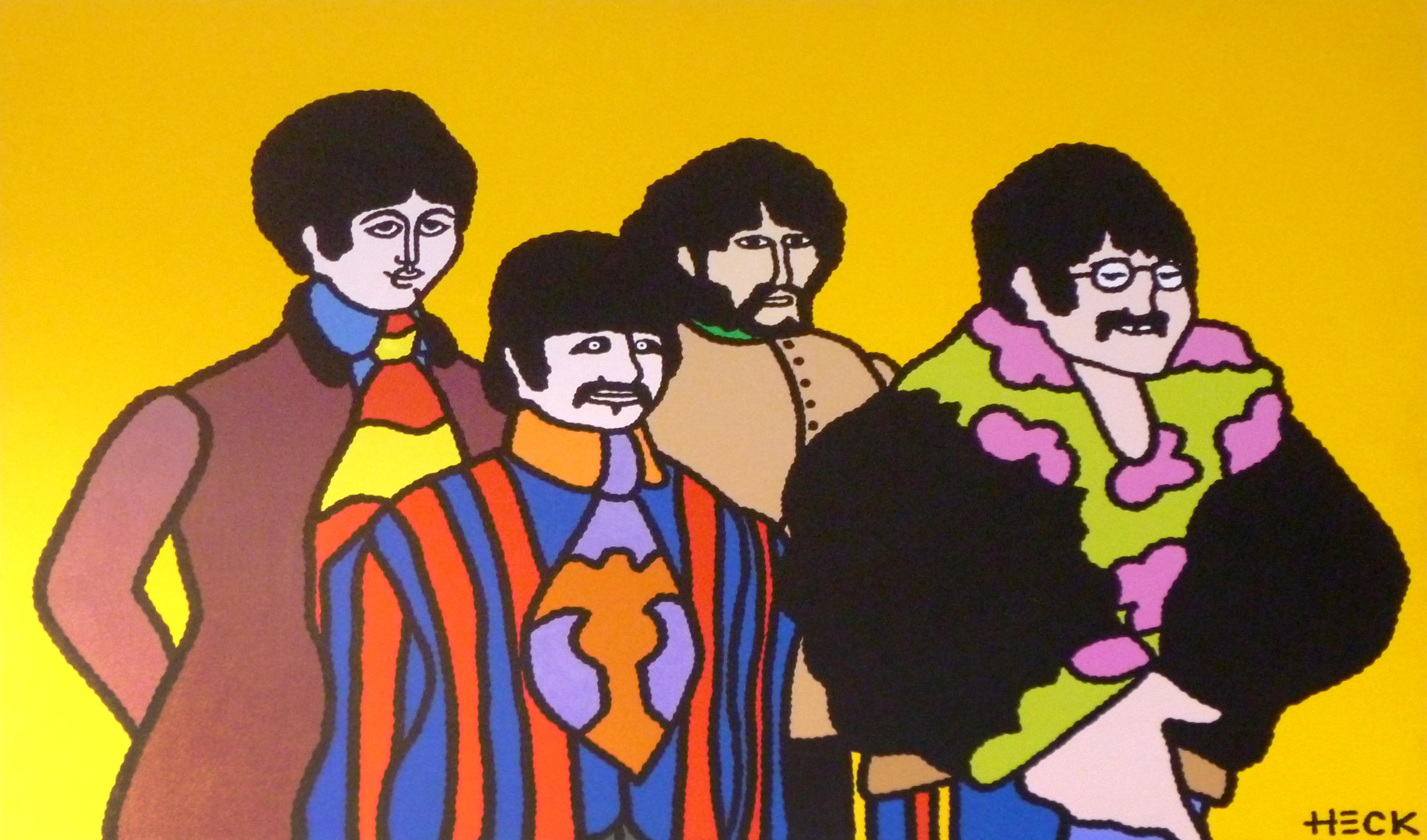 Ed Heck - Beatles yellow submarine , 6575-006-228