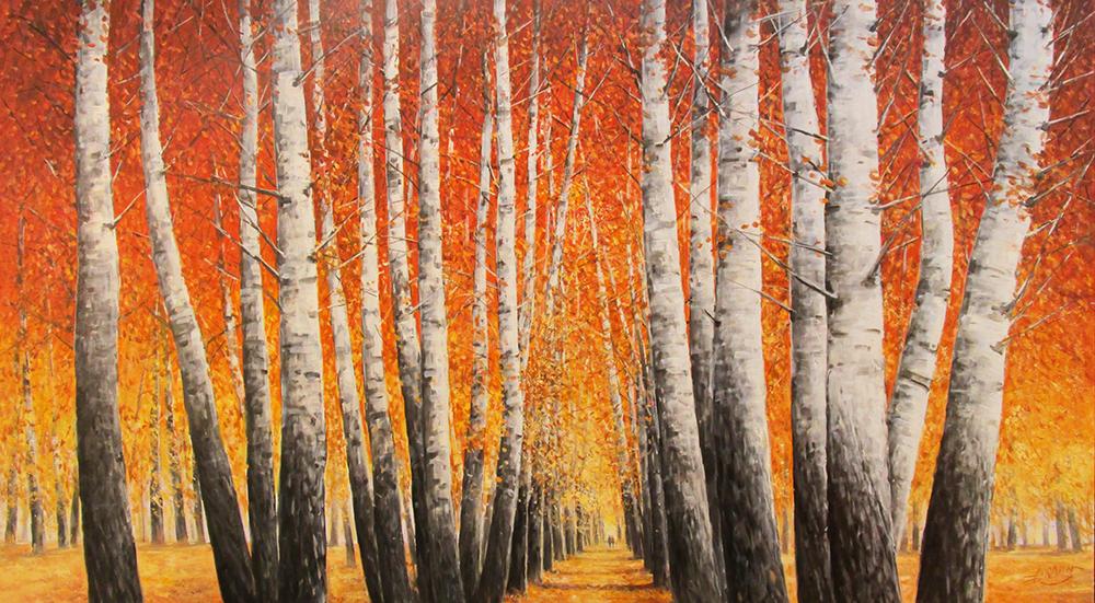 Detlef Rahn - Birken im Herbst , 7840-006-733