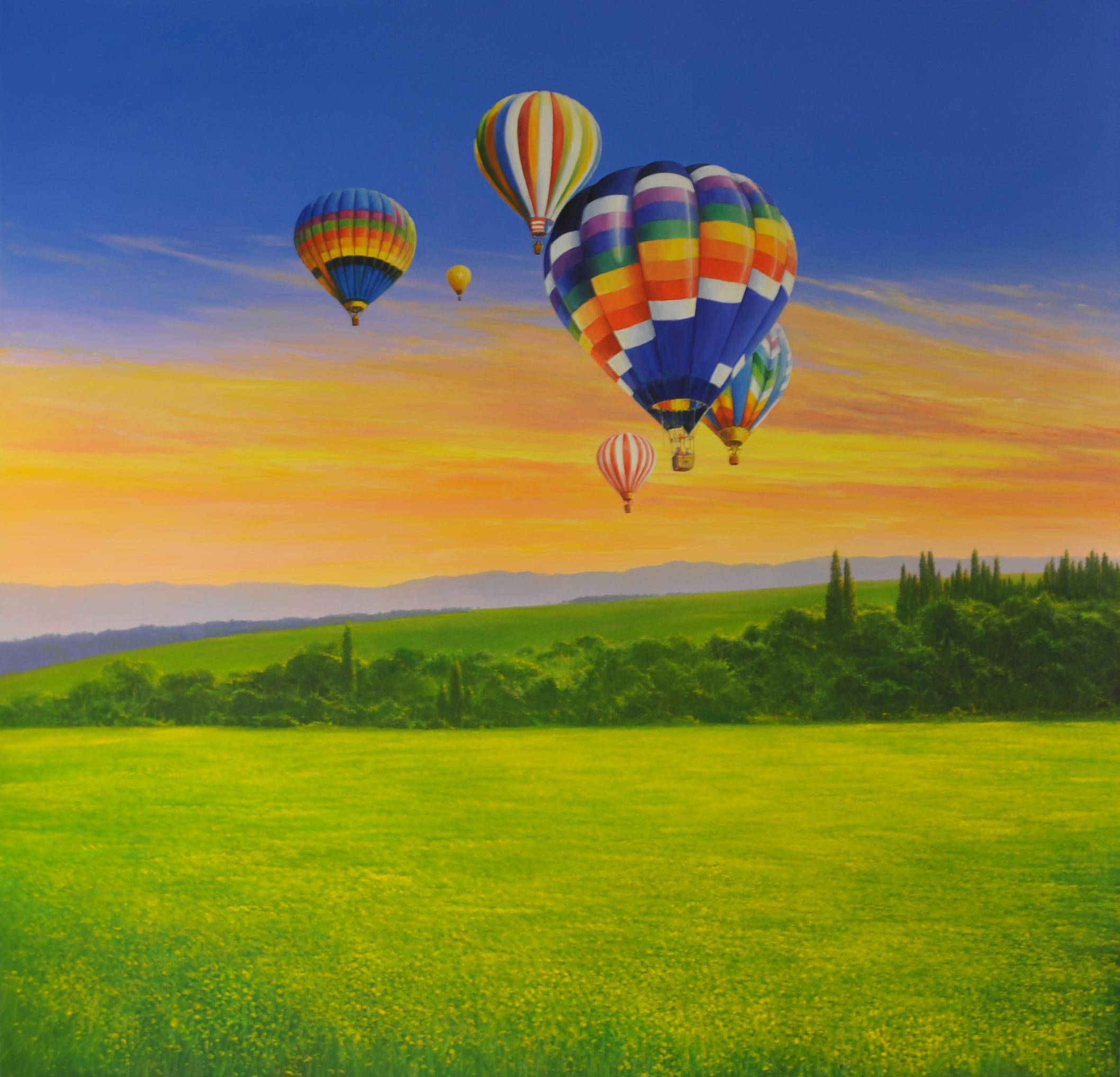 Detlef Rahn - Ballonfahrt Toscana , 7840-006-800
