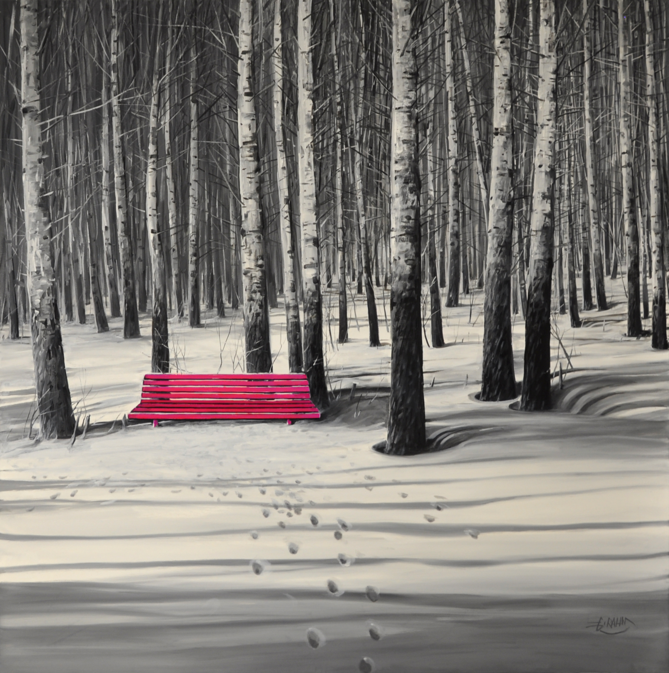 Detlef Rahn - Die rote Bank , 7840-006-843