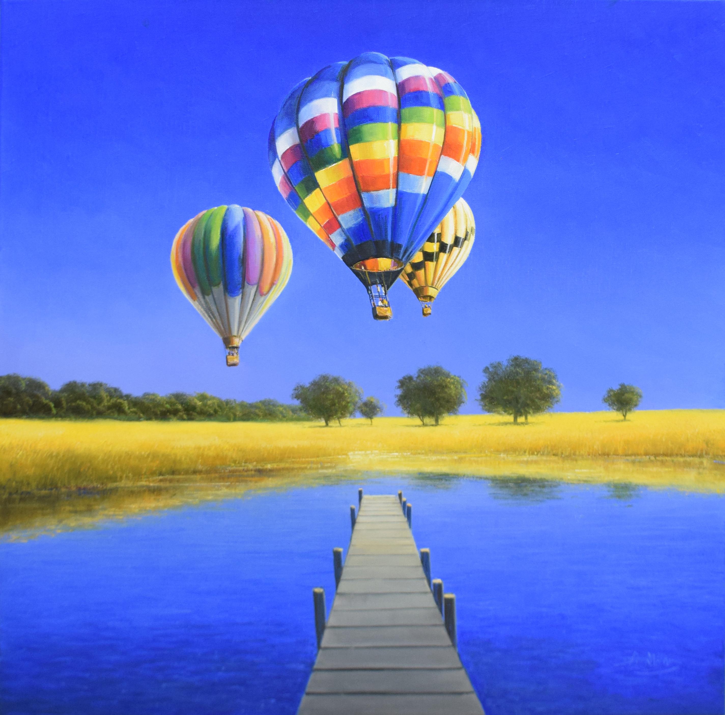 Detlef Rahn - Aufsteigende Heißluftballons , 7840-006-926