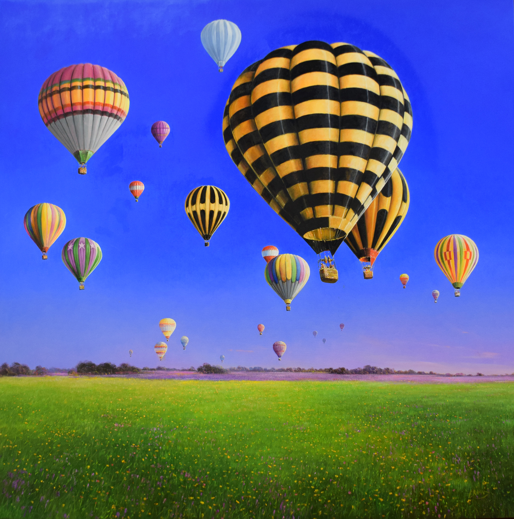 Detlef Rahn - Heißluftballons , 7840-006-930