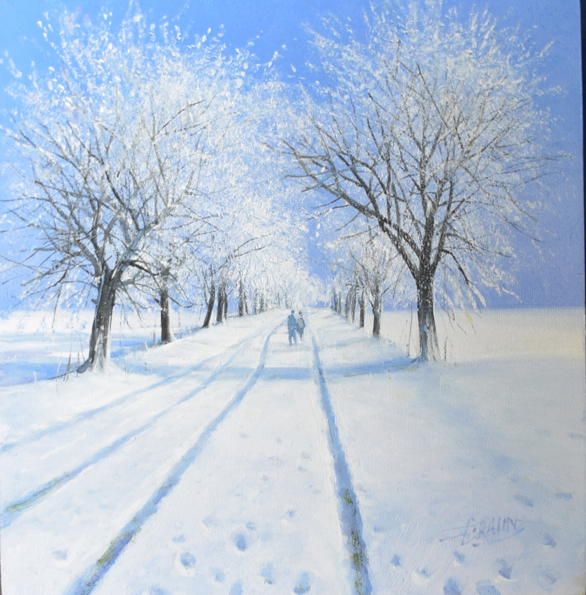 Detlef Rahn - Winter in Brandenburg , 7840-006-980