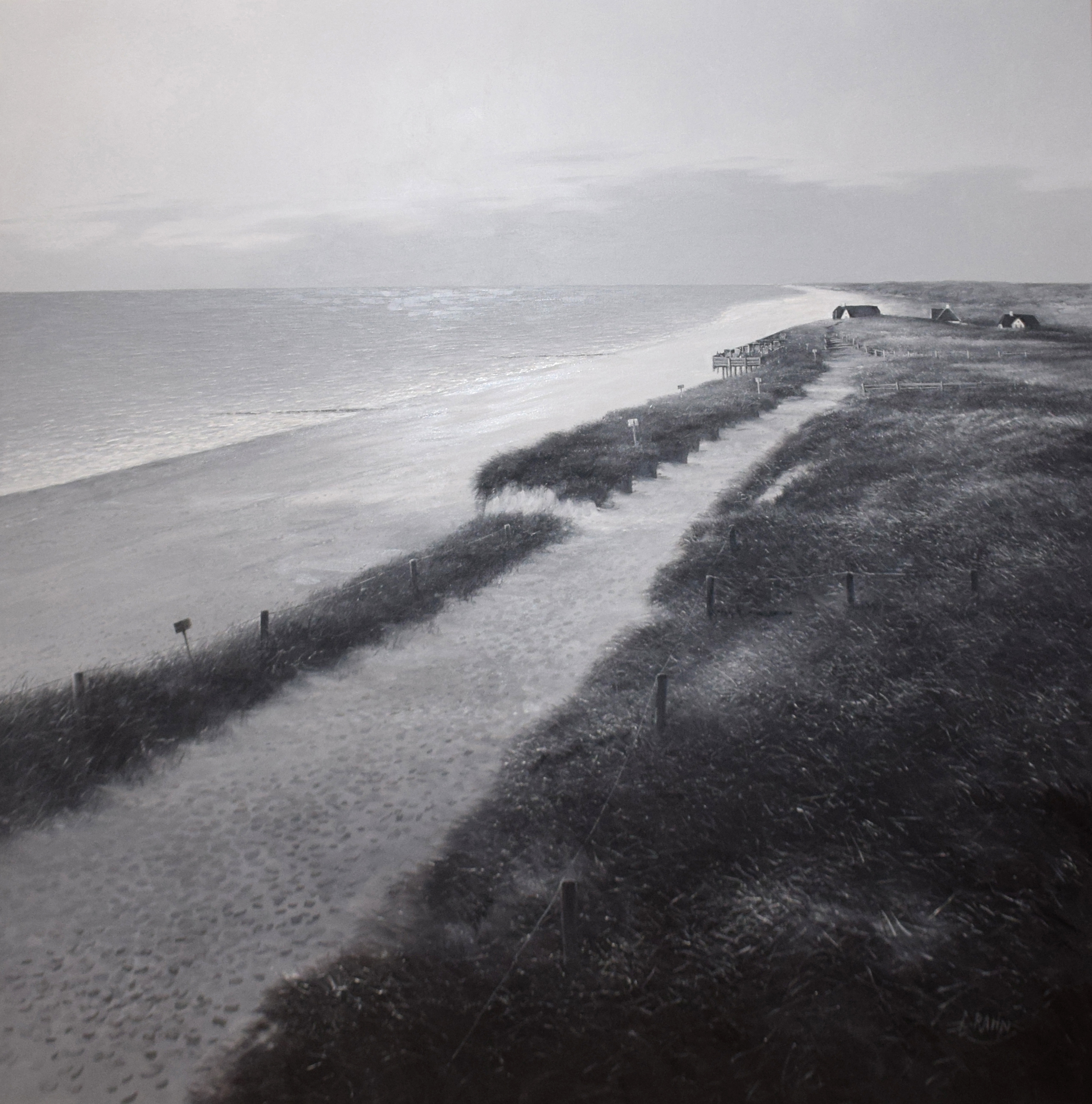 Detlef Rahn - Strand bei Kampen, Sylt , 7840-006-987
