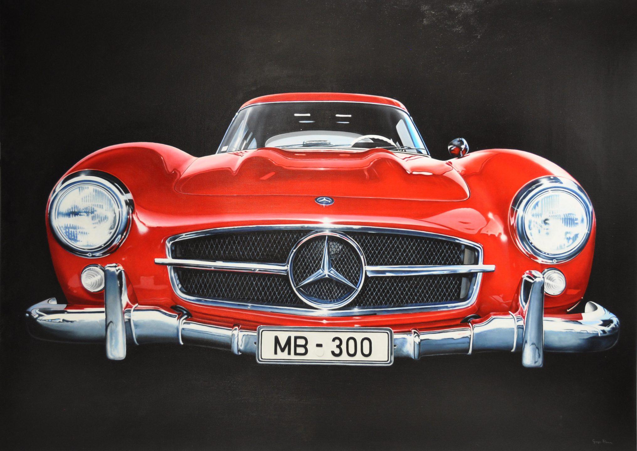 Giorgio Rocca - Mercedes Benz Red , 7092-006-010