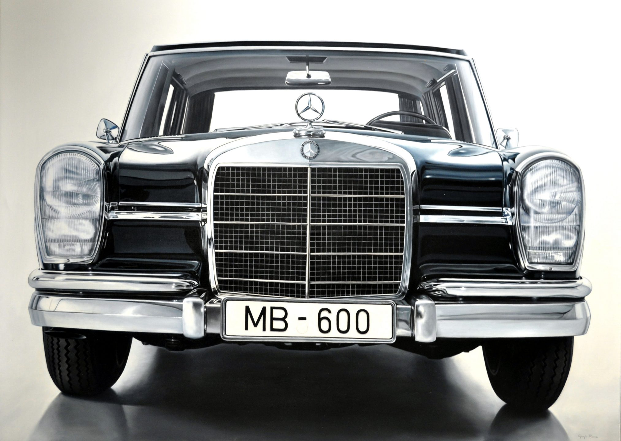 Giorgio Rocca - Mercedes Benz Silver , 7092-006-009