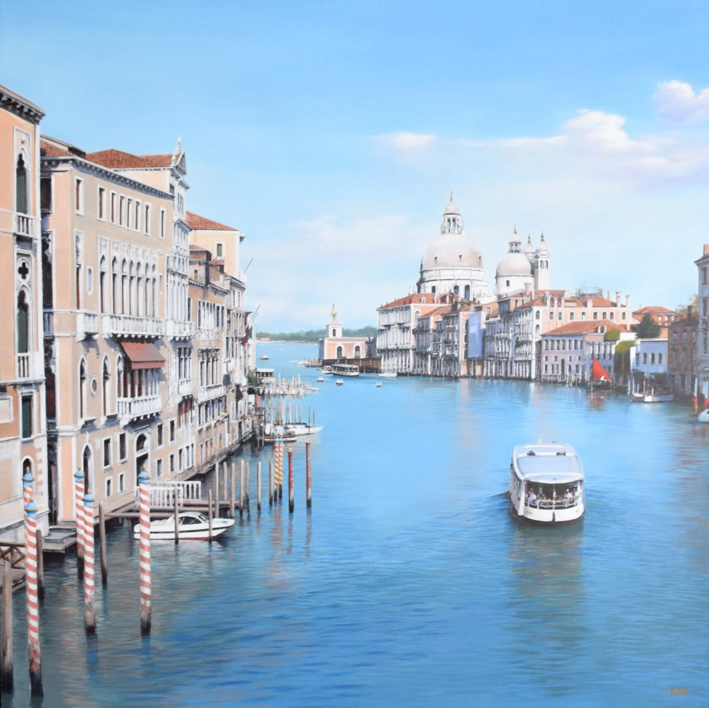Luigi Rocca - Slowly crossing the Grand Canal , 6855-006-248