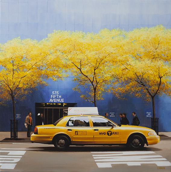 Luigi Rocca - Yellowish in 5th Avenue , 6855-006-280
