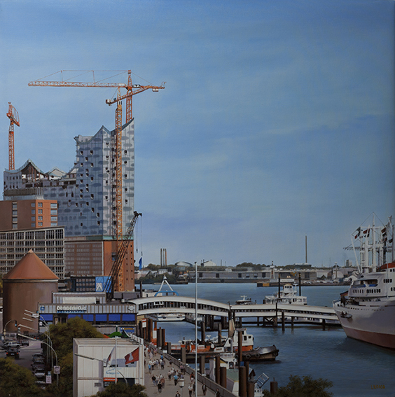 Luigi Rocca - Hamburger Docks , 6855-006-320