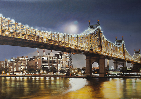 Luigi Rocca - Enlightening Queensboro Bridge , 6855-006-321