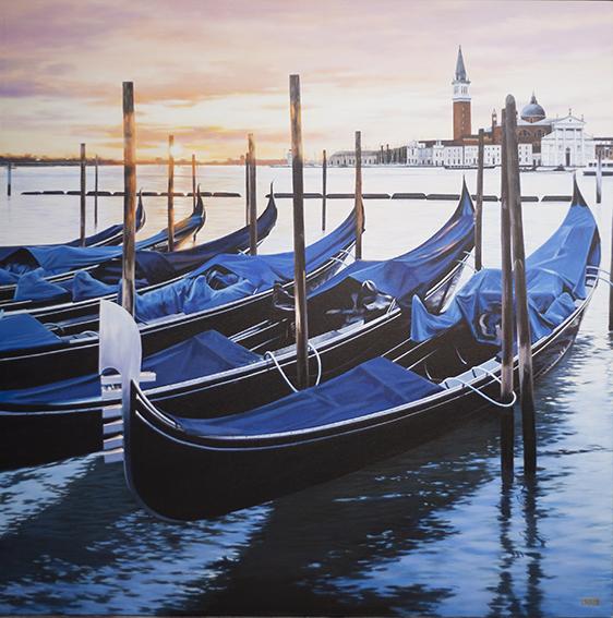 Luigi Rocca - Resting Gondolas , 6855-006-324