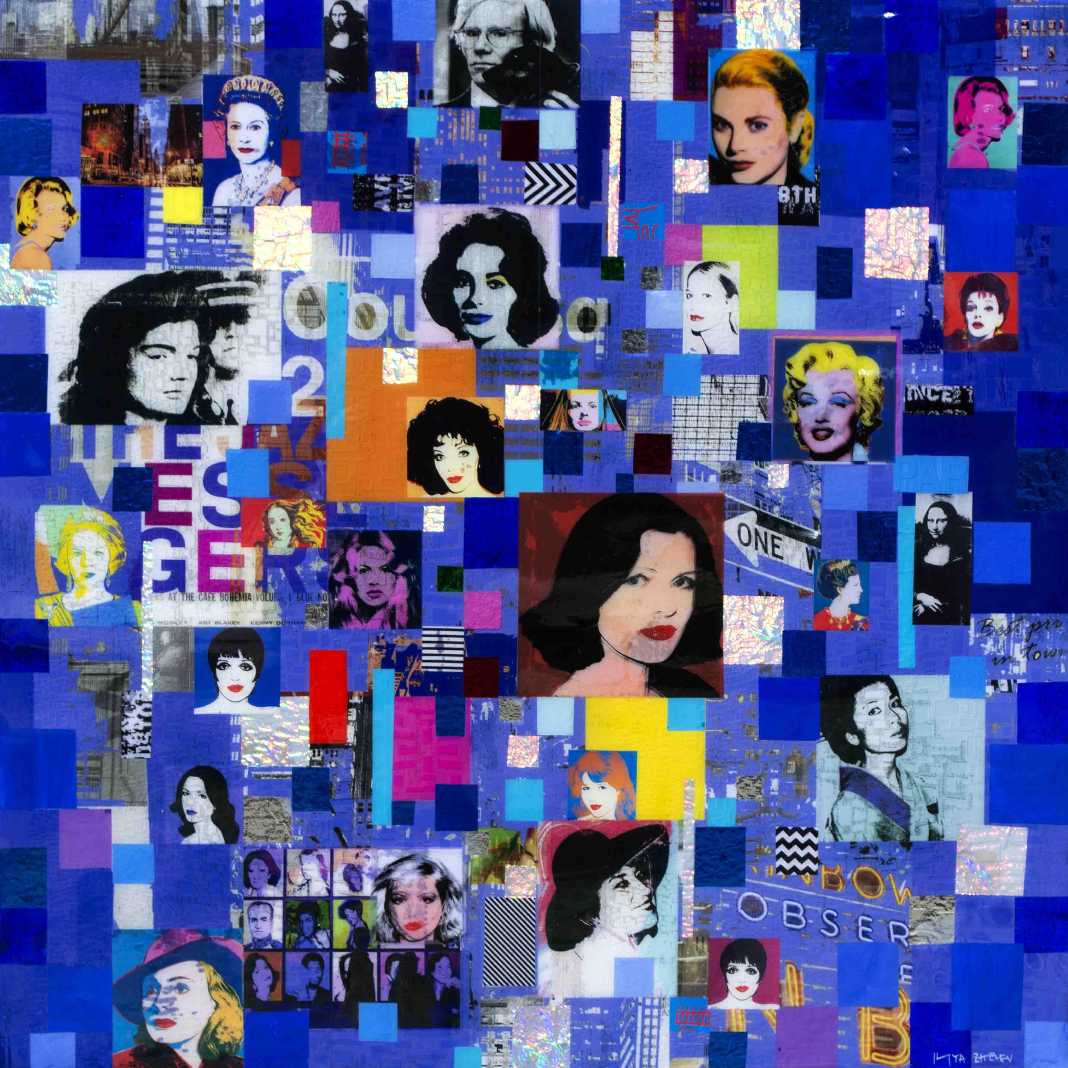 Iliya Zhelev - Andy Warhol's women , 0509-012-978
