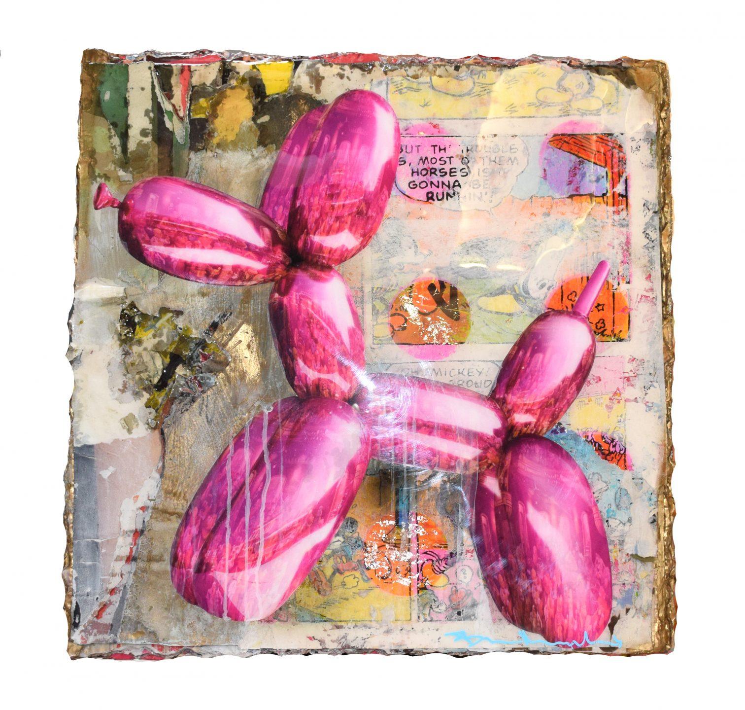 Bram Reijnders - Balloon Dog Rosa , 8029-012-656