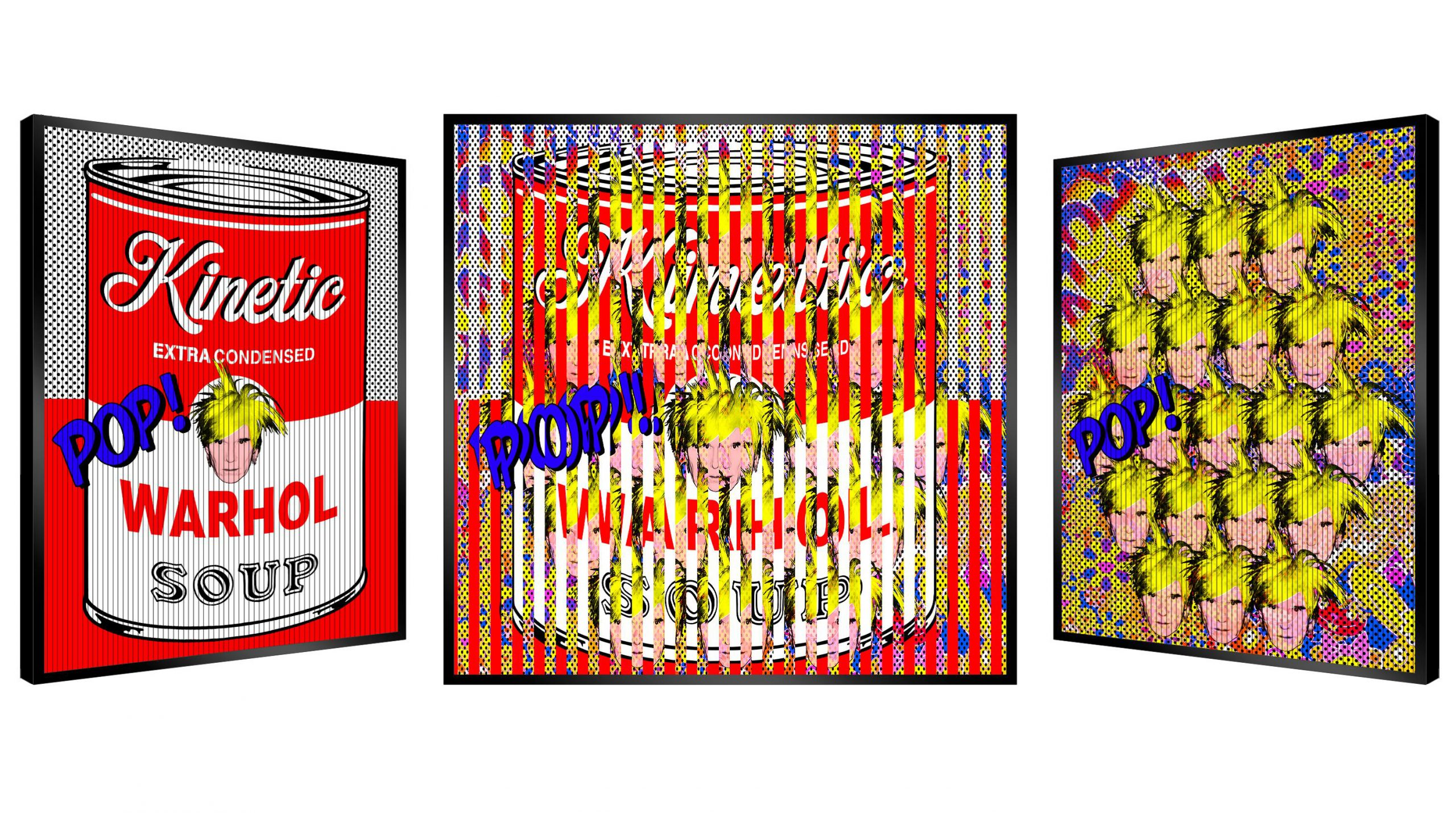 Patrick Rubinstein - Warhol Pop Soup , 2624-004-050