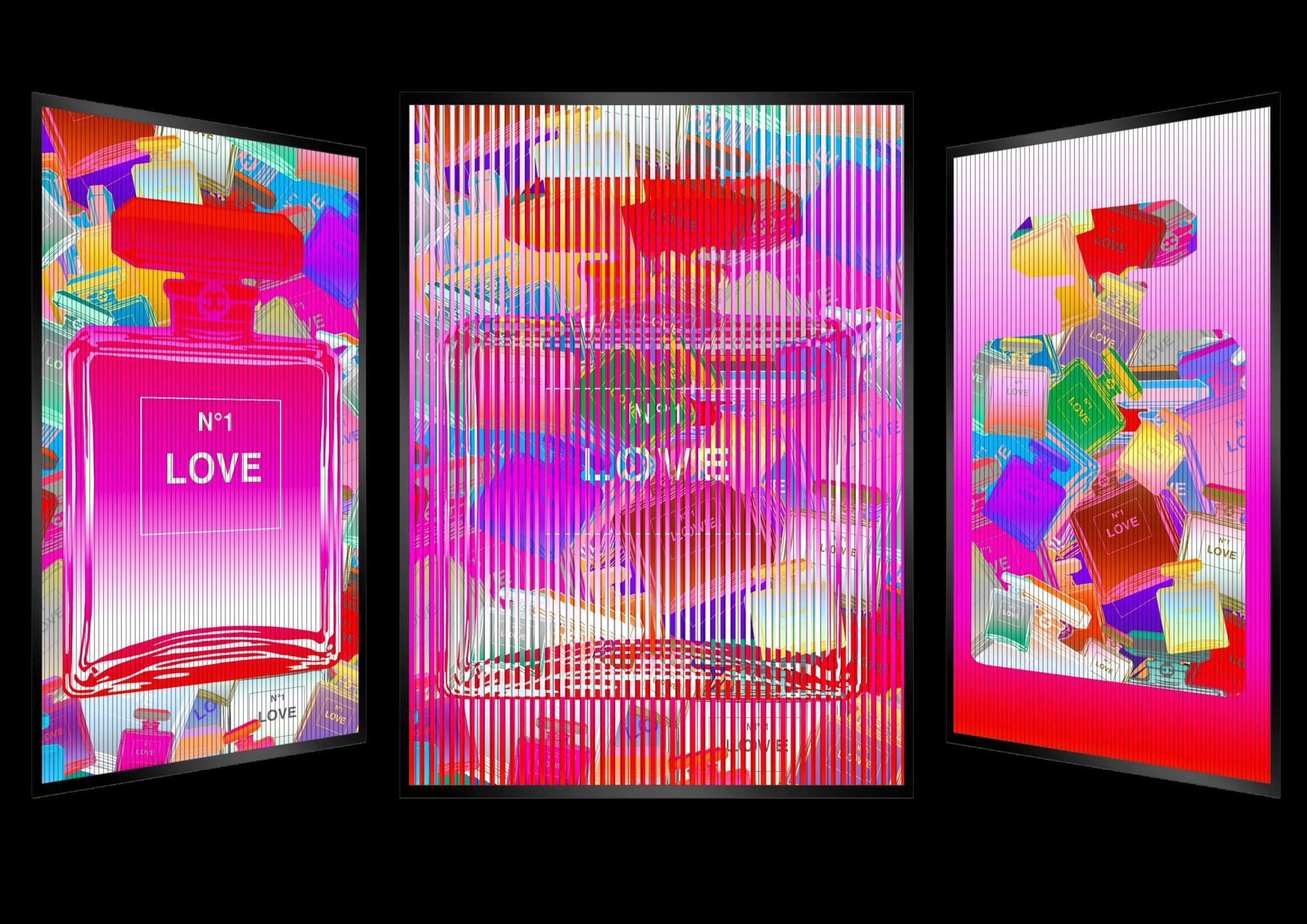 Patrick Rubinstein - Chanel n° Love , 2624-004-056