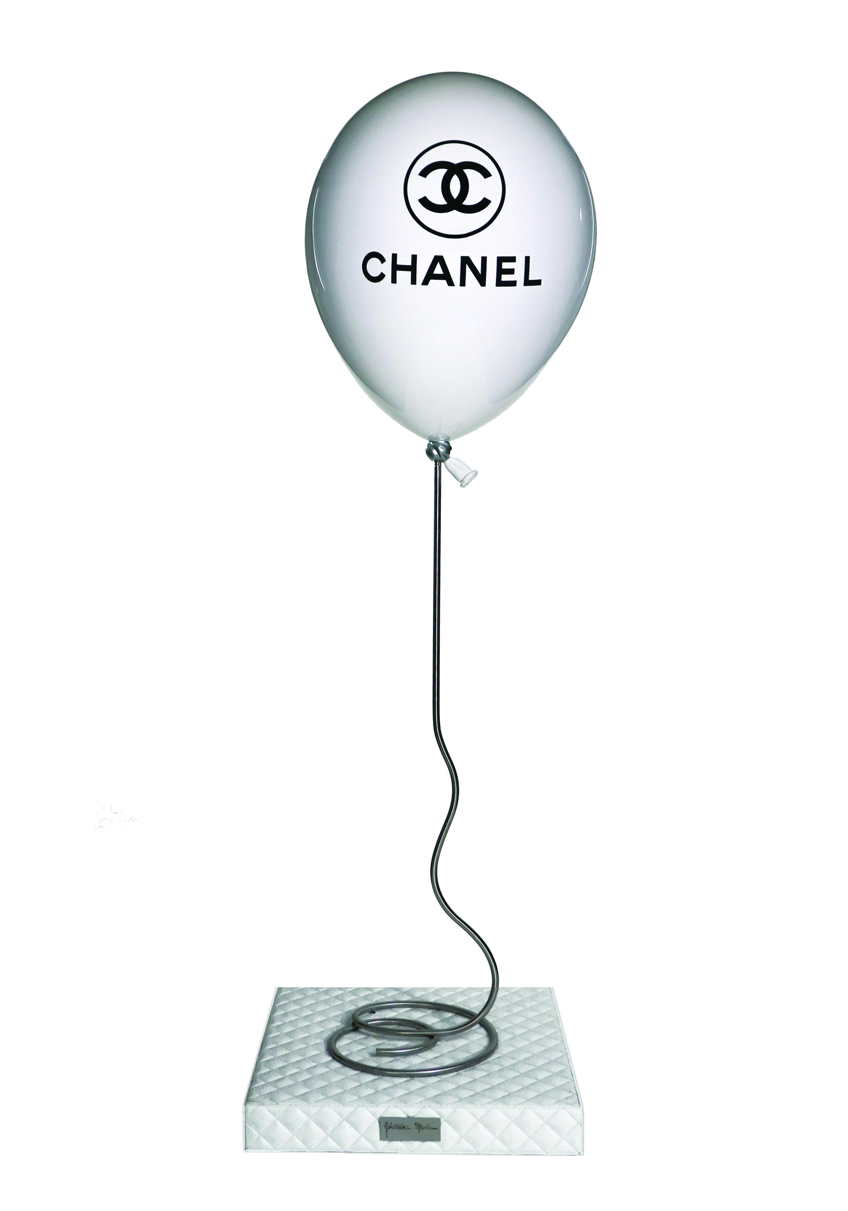 Géraldine Morin - Ballon Chanel Blanc , 8888-011-018